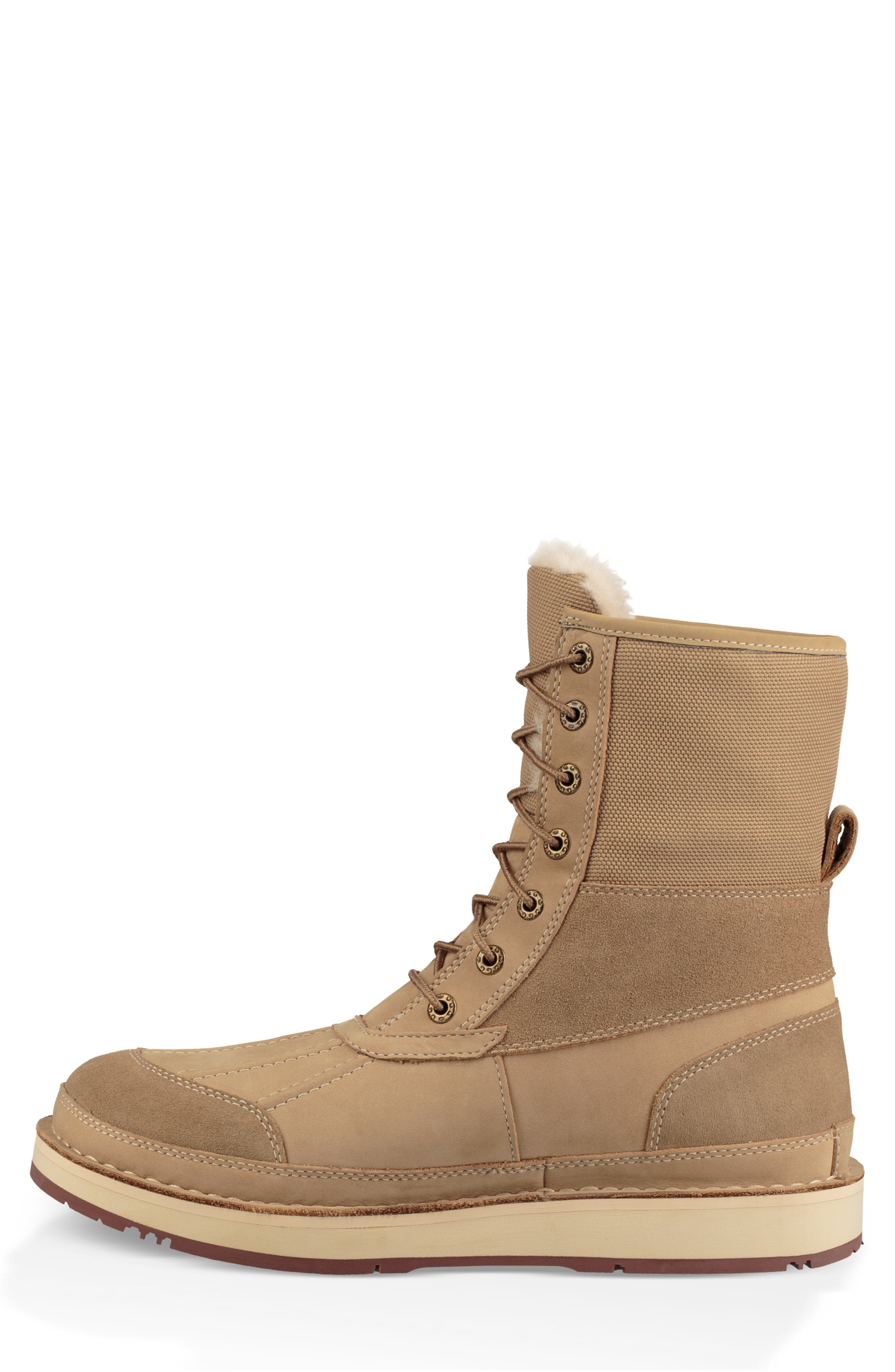 Avalanche Butte Waterproof Boot,                             Alternate thumbnail 9, color,                             DESERT TAN