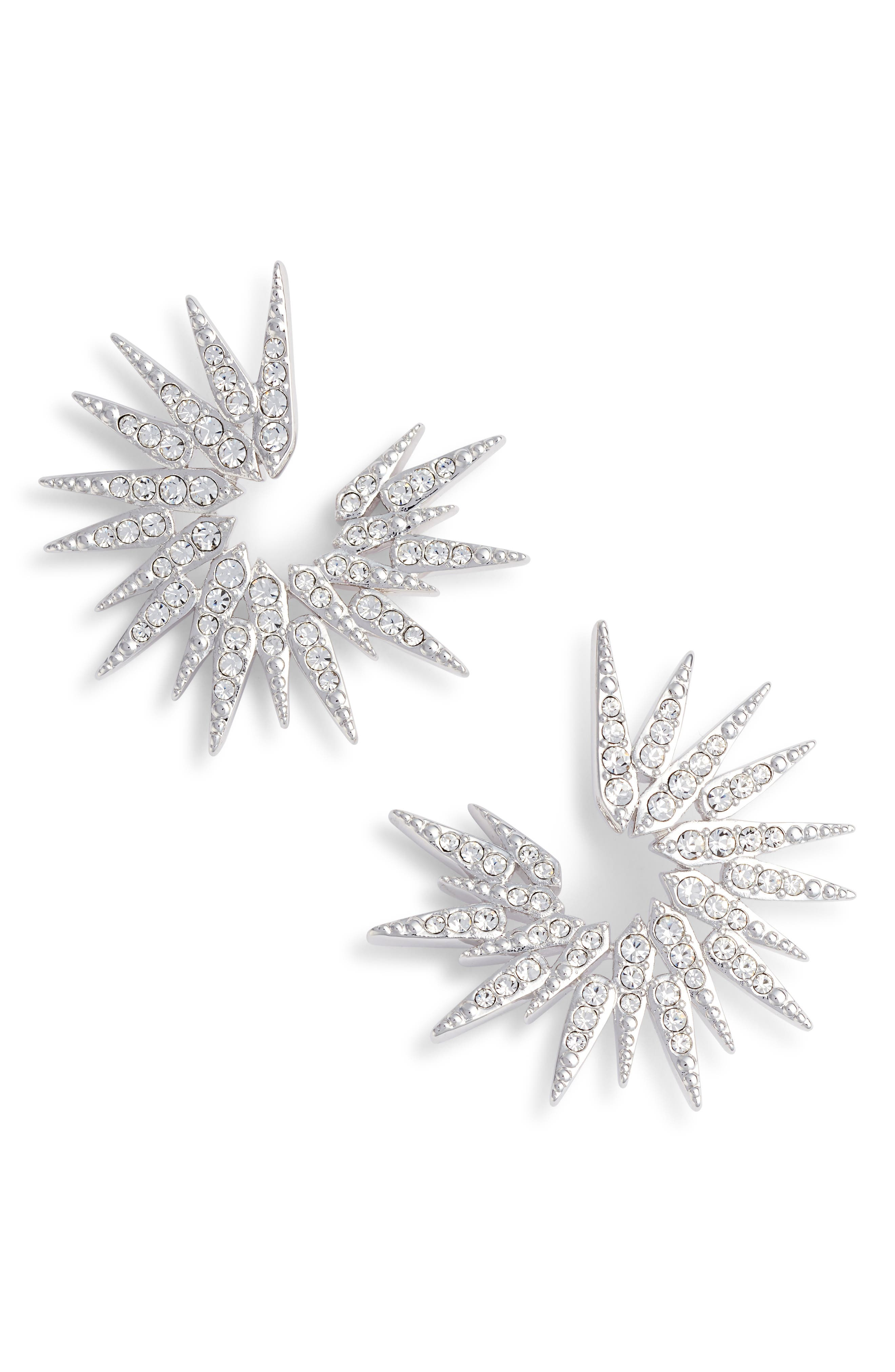 Sparkle Burst Earrings,                         Main,                         color,