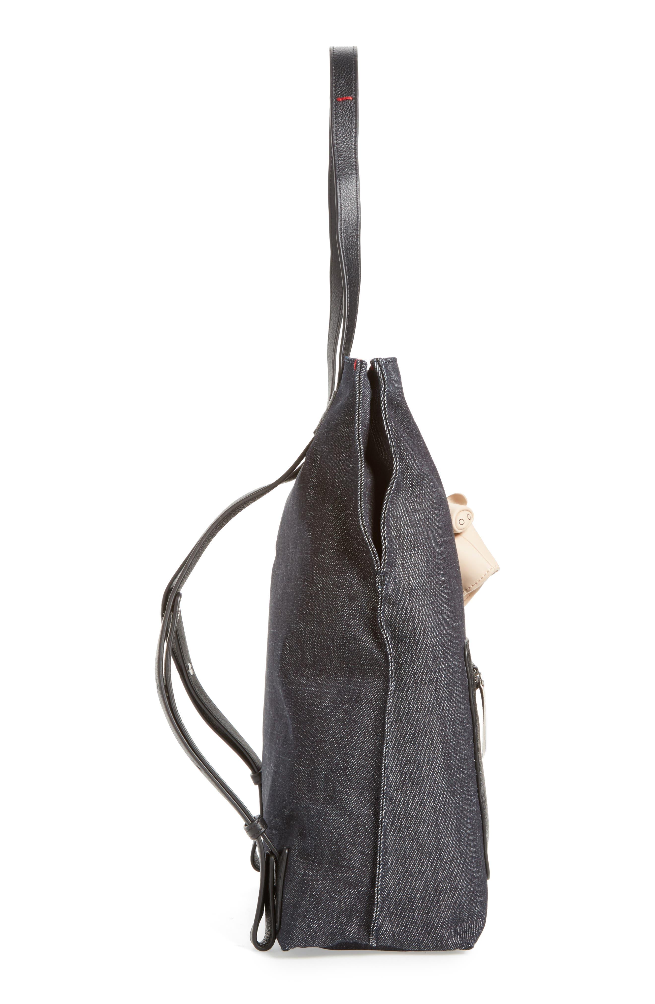 Fremont Woven Backpack,                             Alternate thumbnail 5, color,                             001