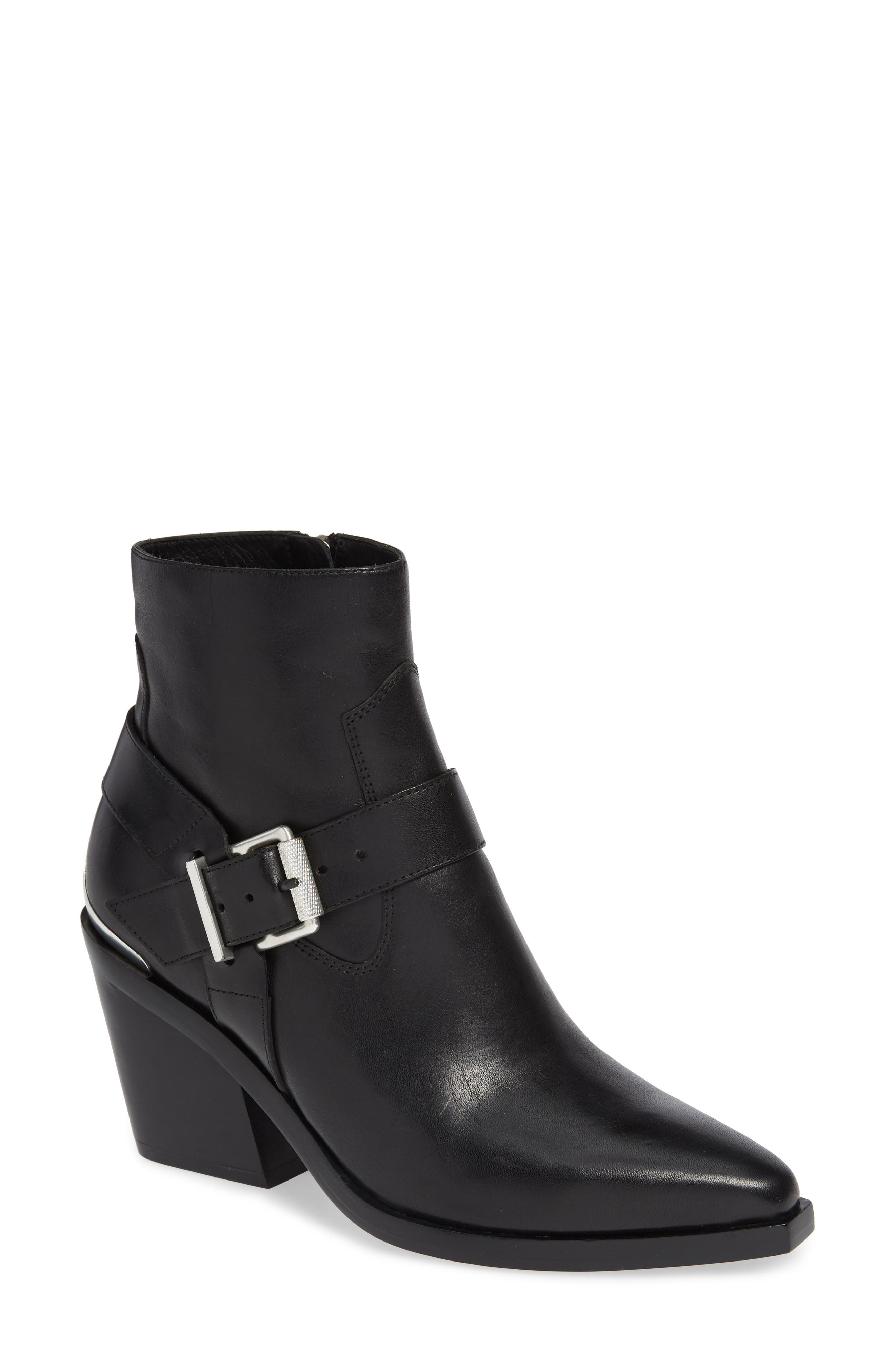 Rag & Bone Ryder Buckle Bootie, Black