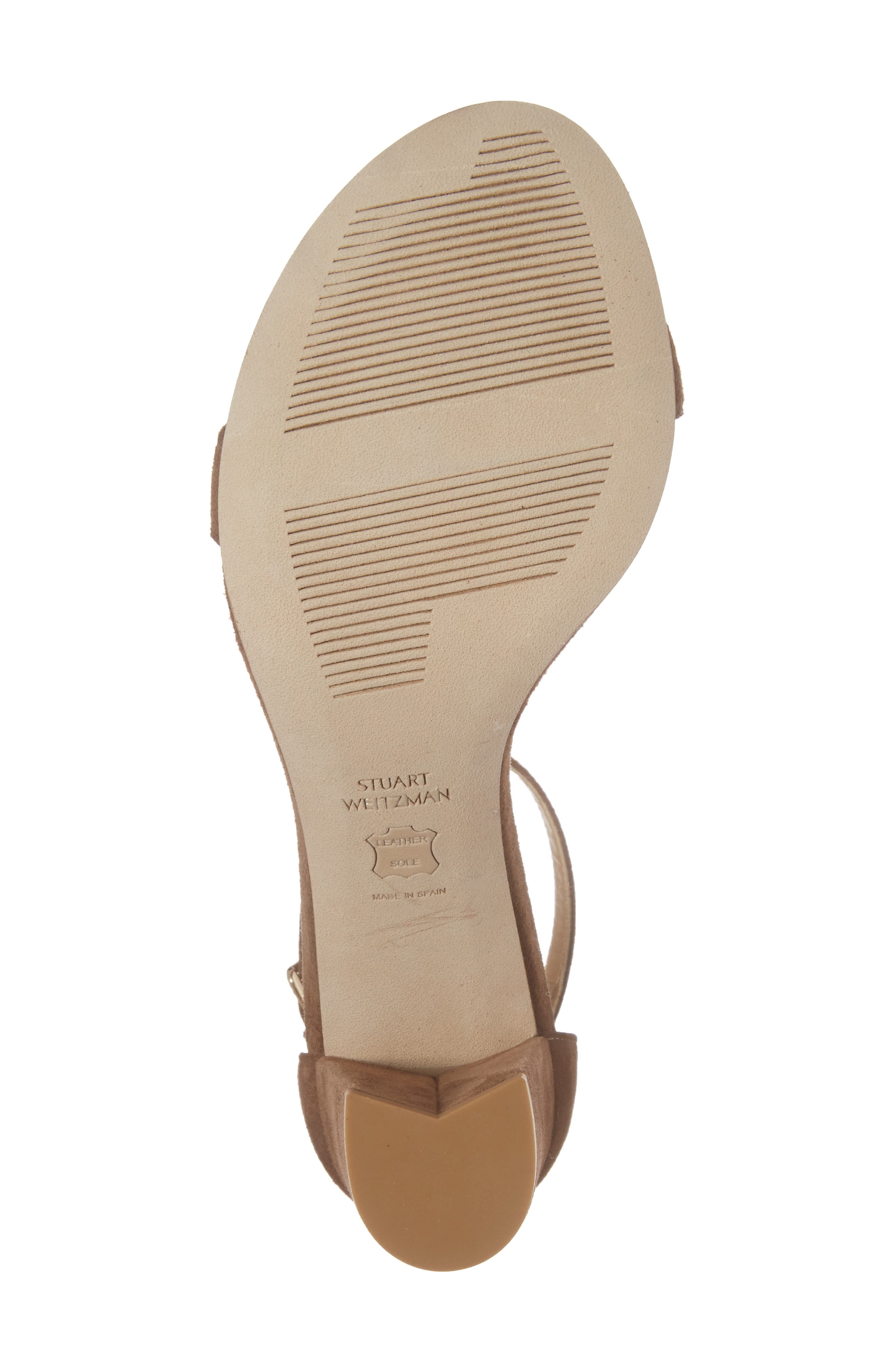 NearlyNude Ankle Strap Sandal,                             Alternate thumbnail 150, color,