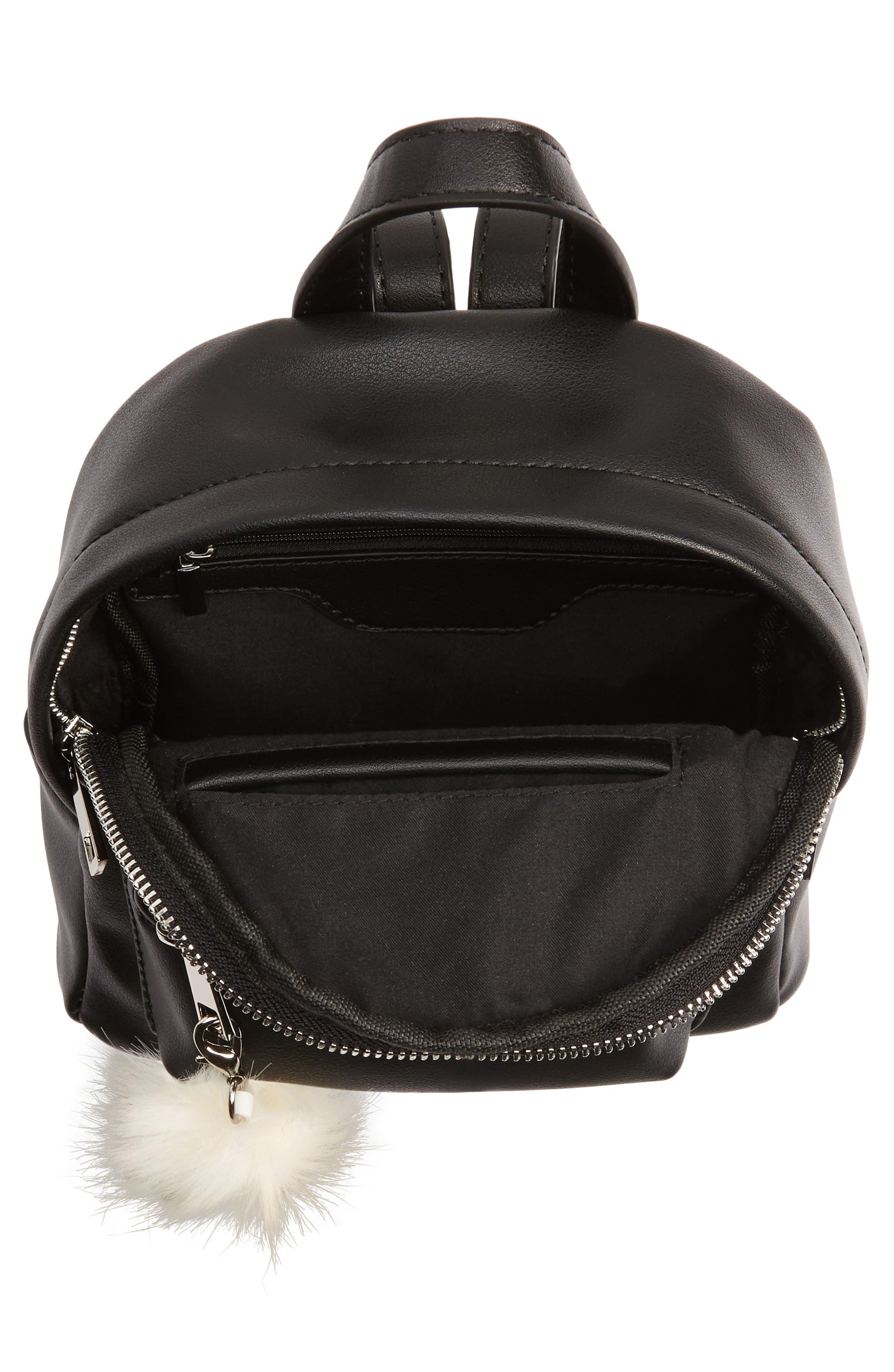 Faux Leather Mini Backpack,                             Alternate thumbnail 29, color,