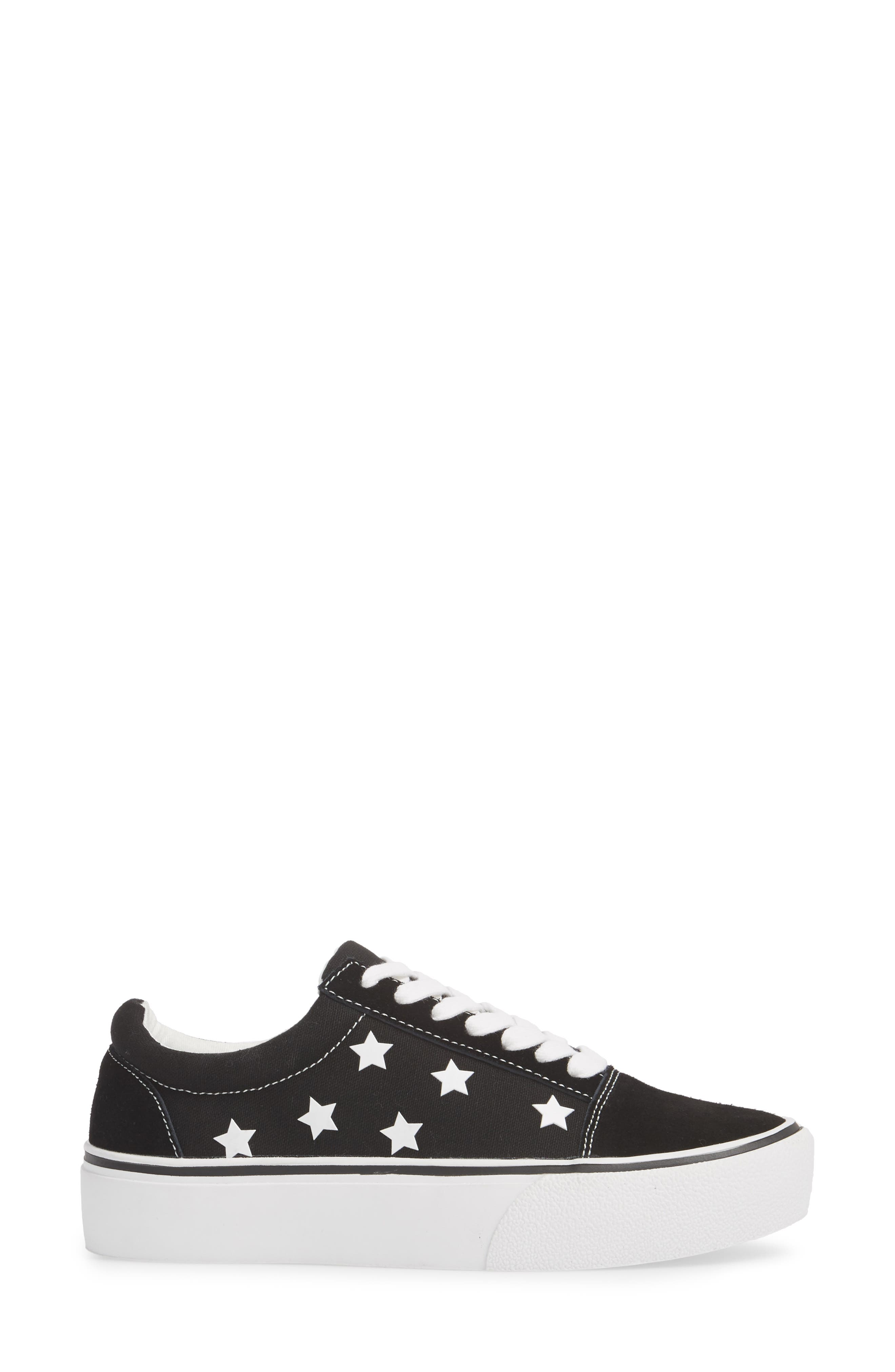 Emile Platform Sneaker,                             Alternate thumbnail 3, color,                             006