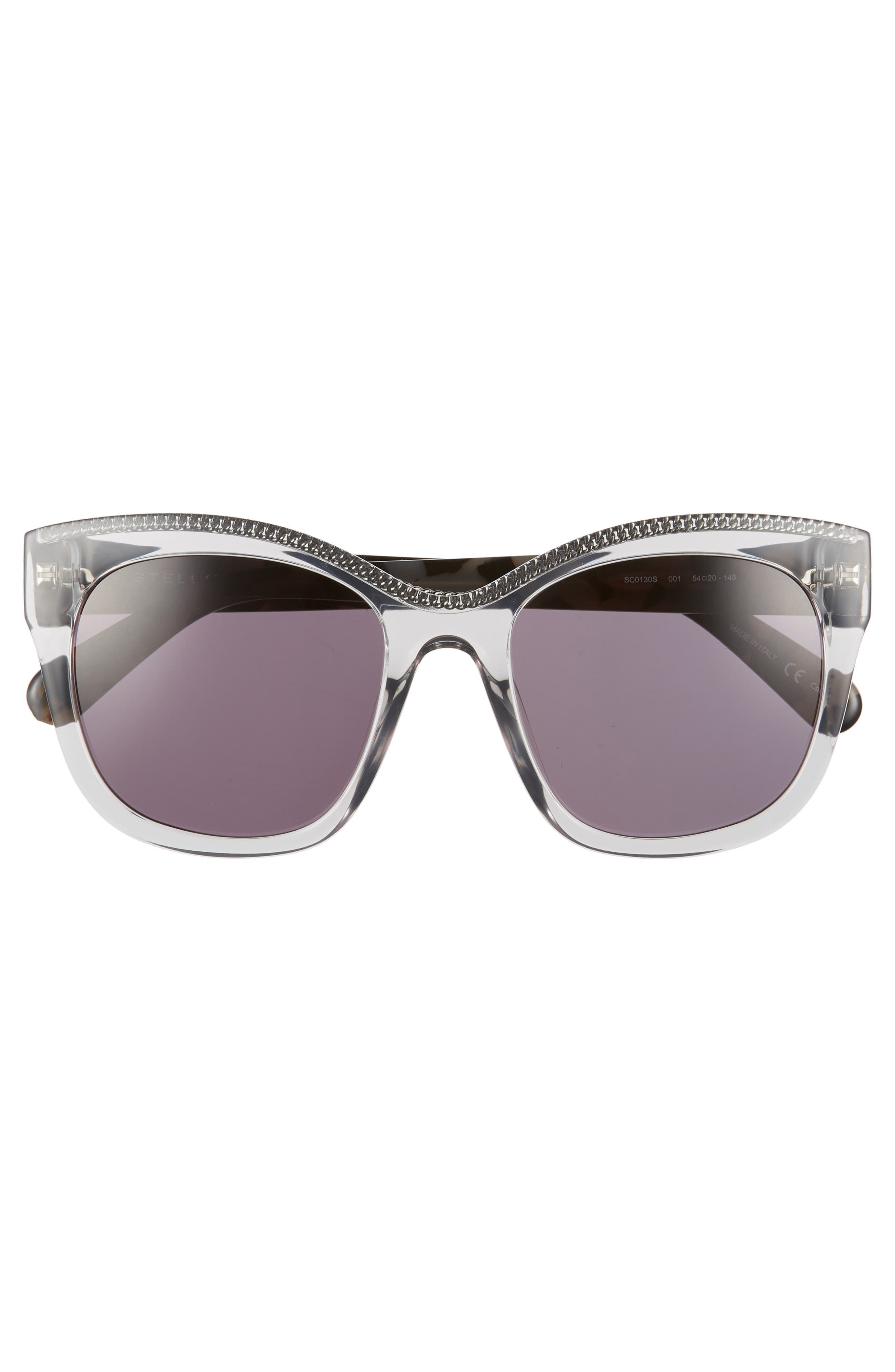 54mm Sunglasses,                             Alternate thumbnail 3, color,                             GREY HAVANA