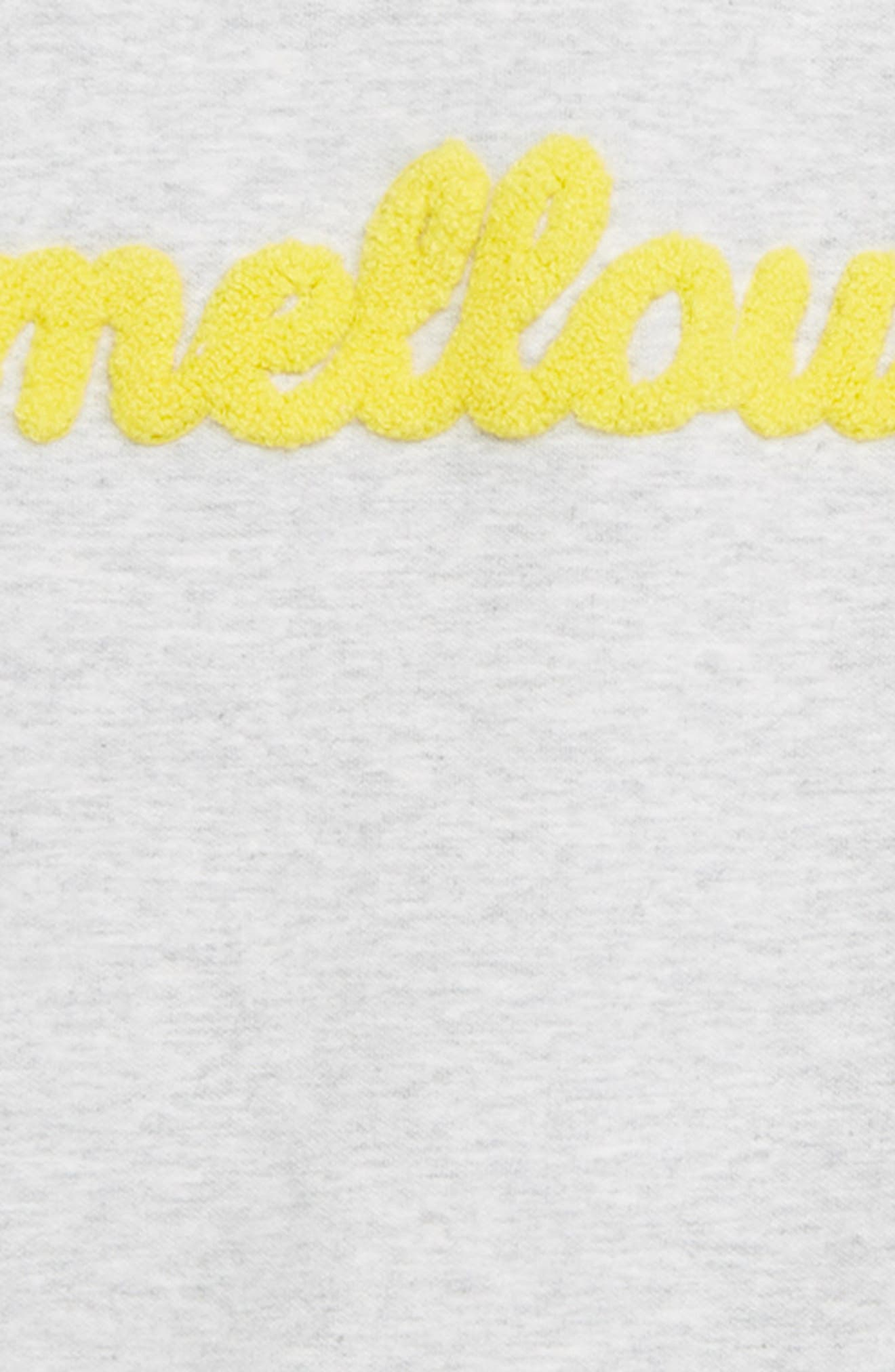 Flare Sleeve Sweatshirt,                             Alternate thumbnail 2, color,                             GREY ASH HEATHER MELLOW