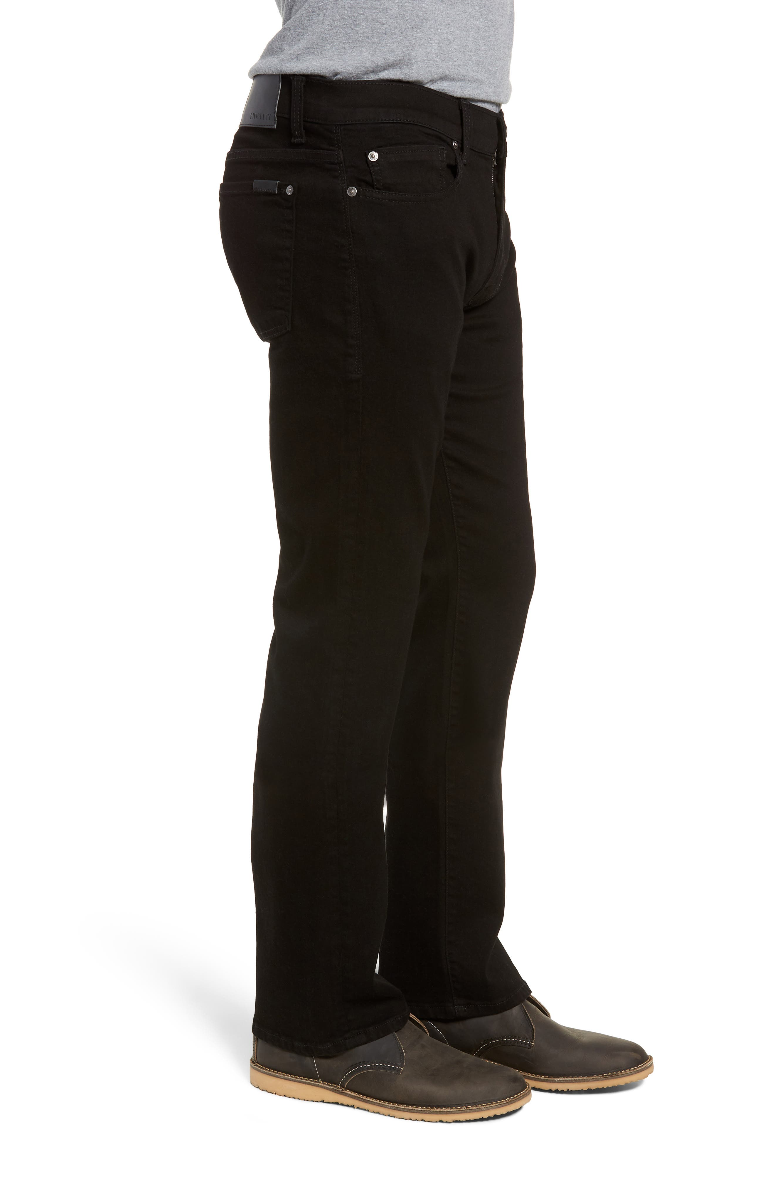 50-11 Relaxed Fit Jeans,                             Alternate thumbnail 3, color,                             GOTHAM BLACK