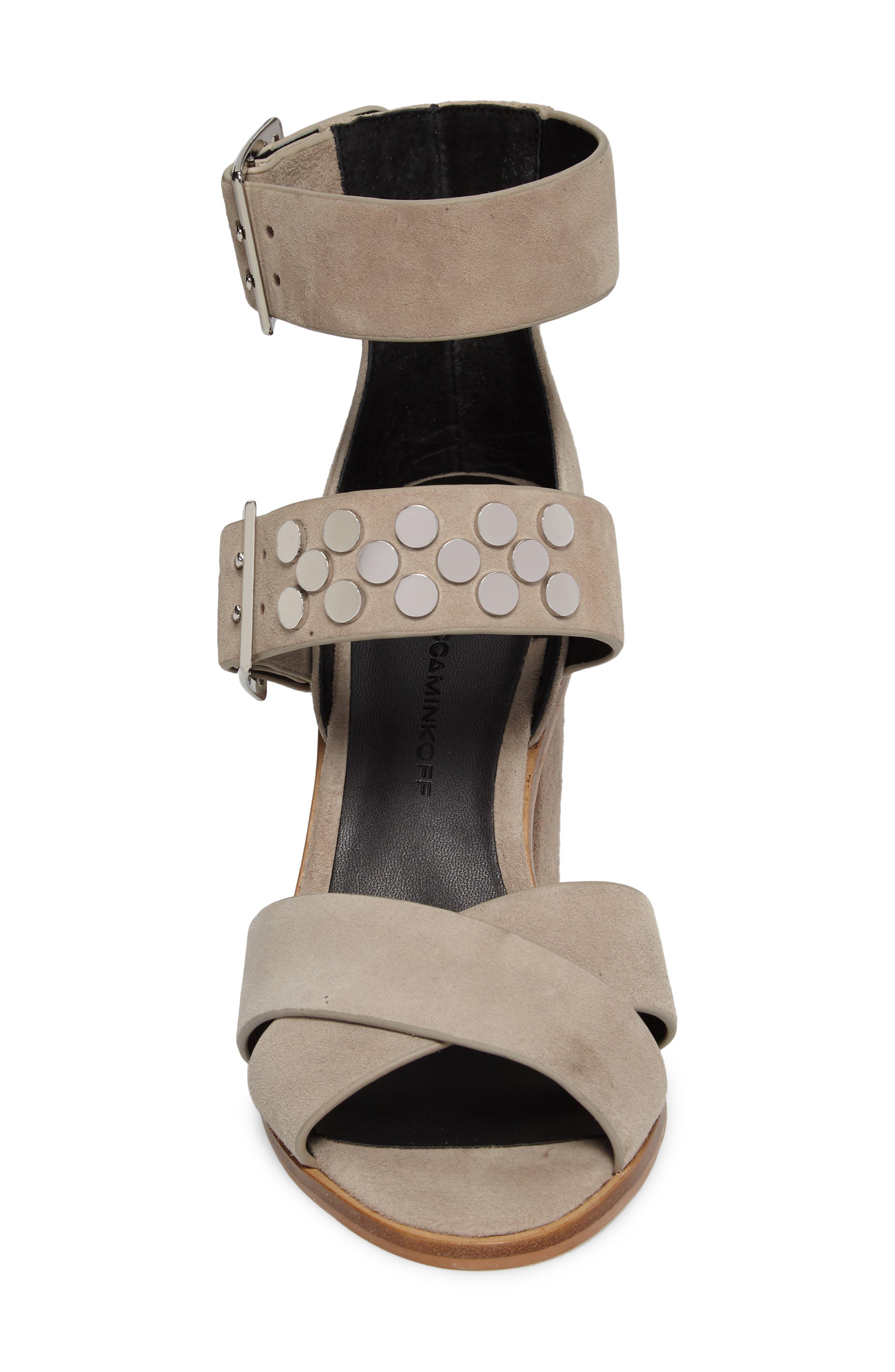 Jennifer Studded Ankle Cuff Sandal,                             Alternate thumbnail 11, color,