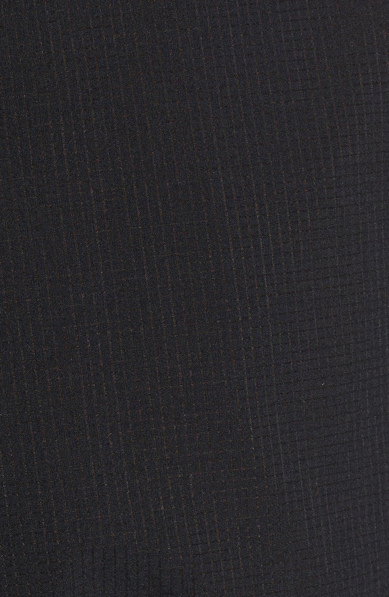 Epic Knit Shorts,                             Alternate thumbnail 5, color,                             BLACK