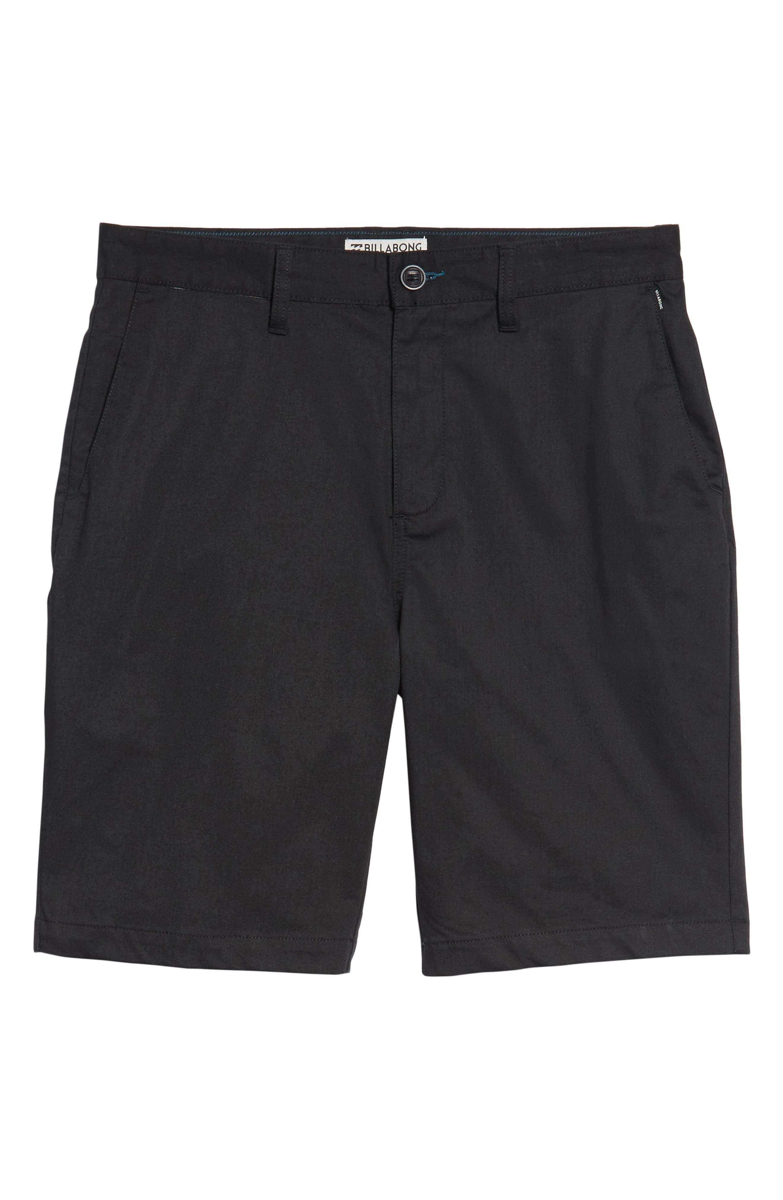 Carter Stretch Twill Shorts,                             Alternate thumbnail 6, color,                             002