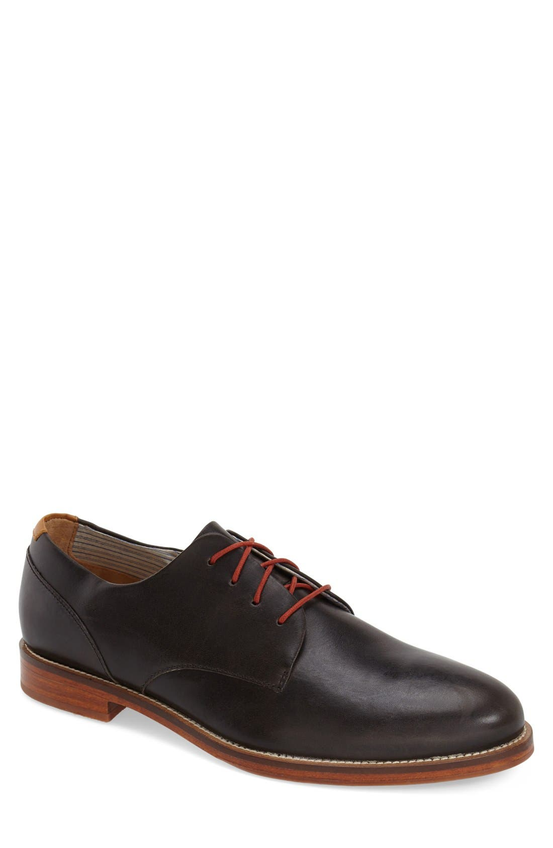 'William Plus' Plain Toe Derby,                             Main thumbnail 1, color,                             019