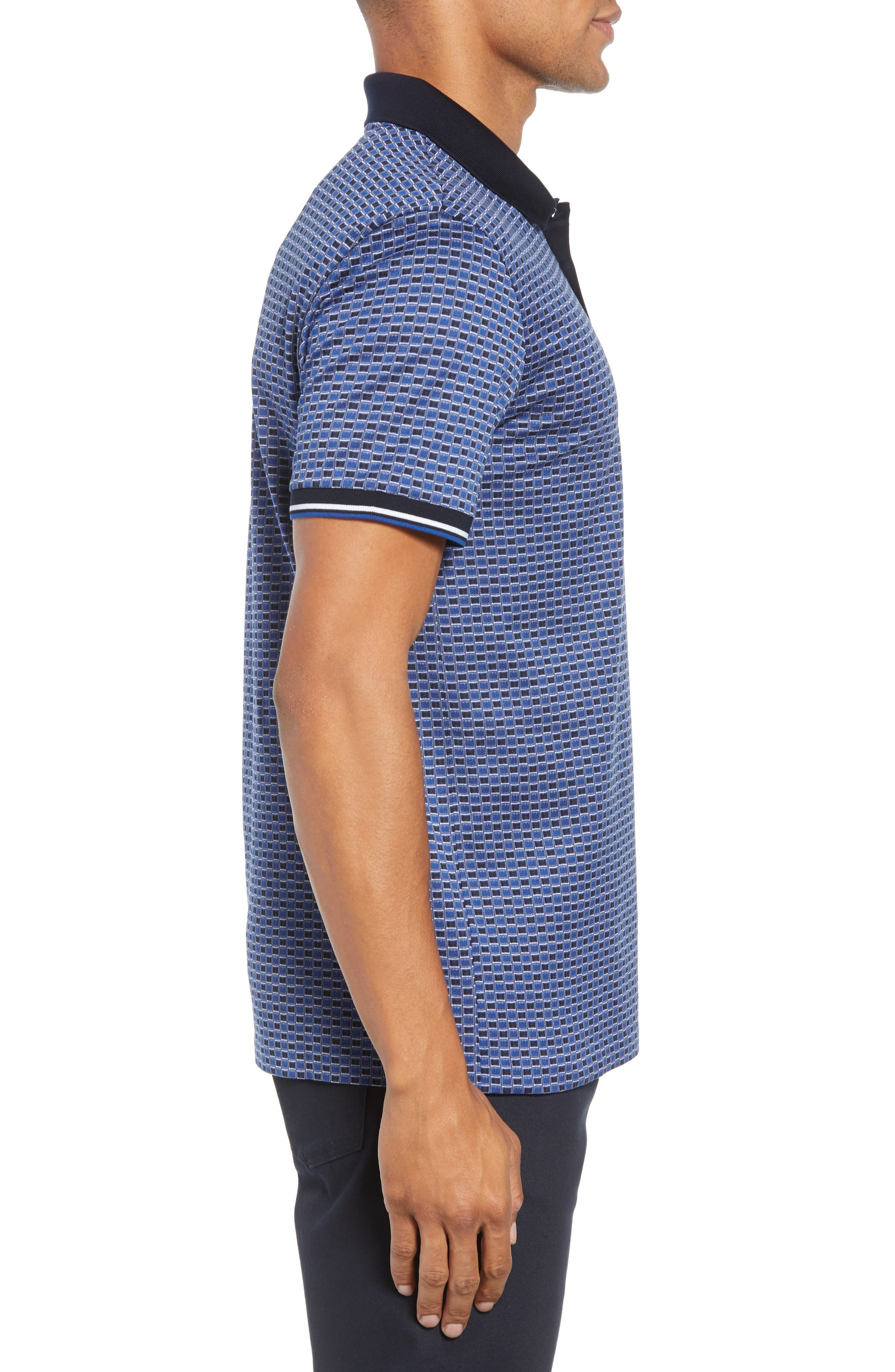 Parlay Regular Fit Polo,                             Alternate thumbnail 3, color,                             BLUE