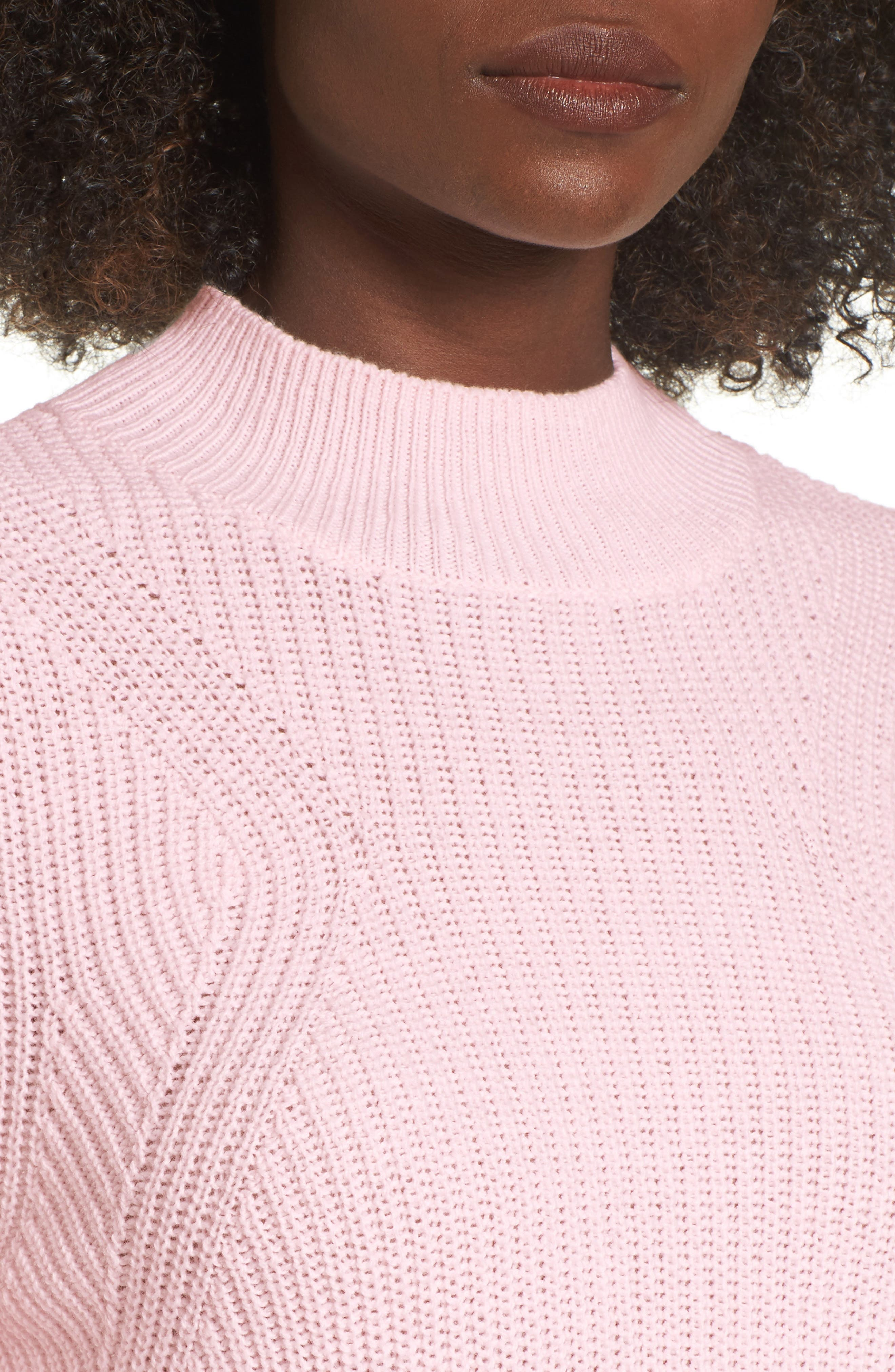 Mock Neck Tunic Sweater,                             Alternate thumbnail 22, color,