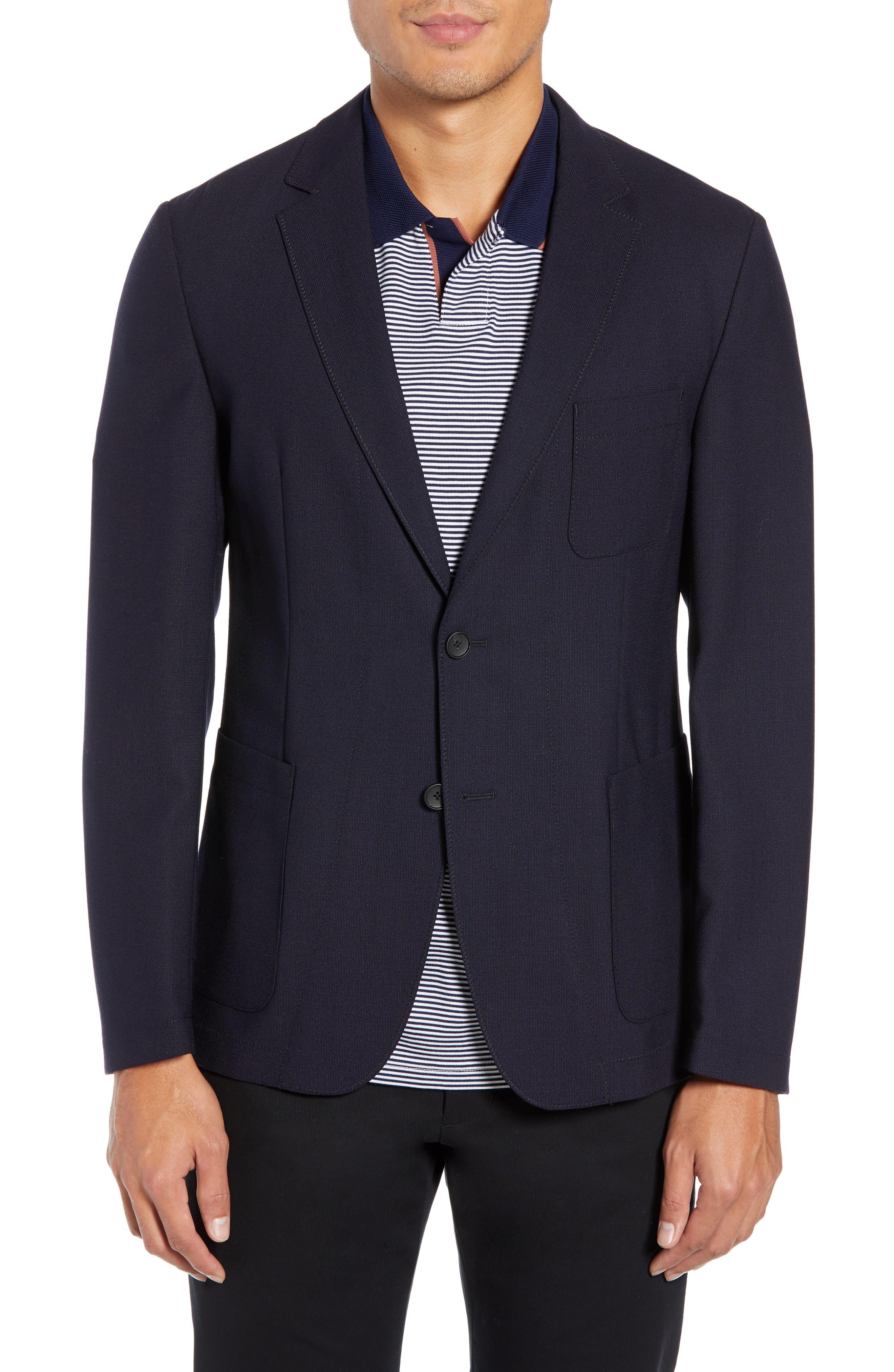 Noswen Slim Fit Sport Coat,                             Main thumbnail 1, color,                             BLUE