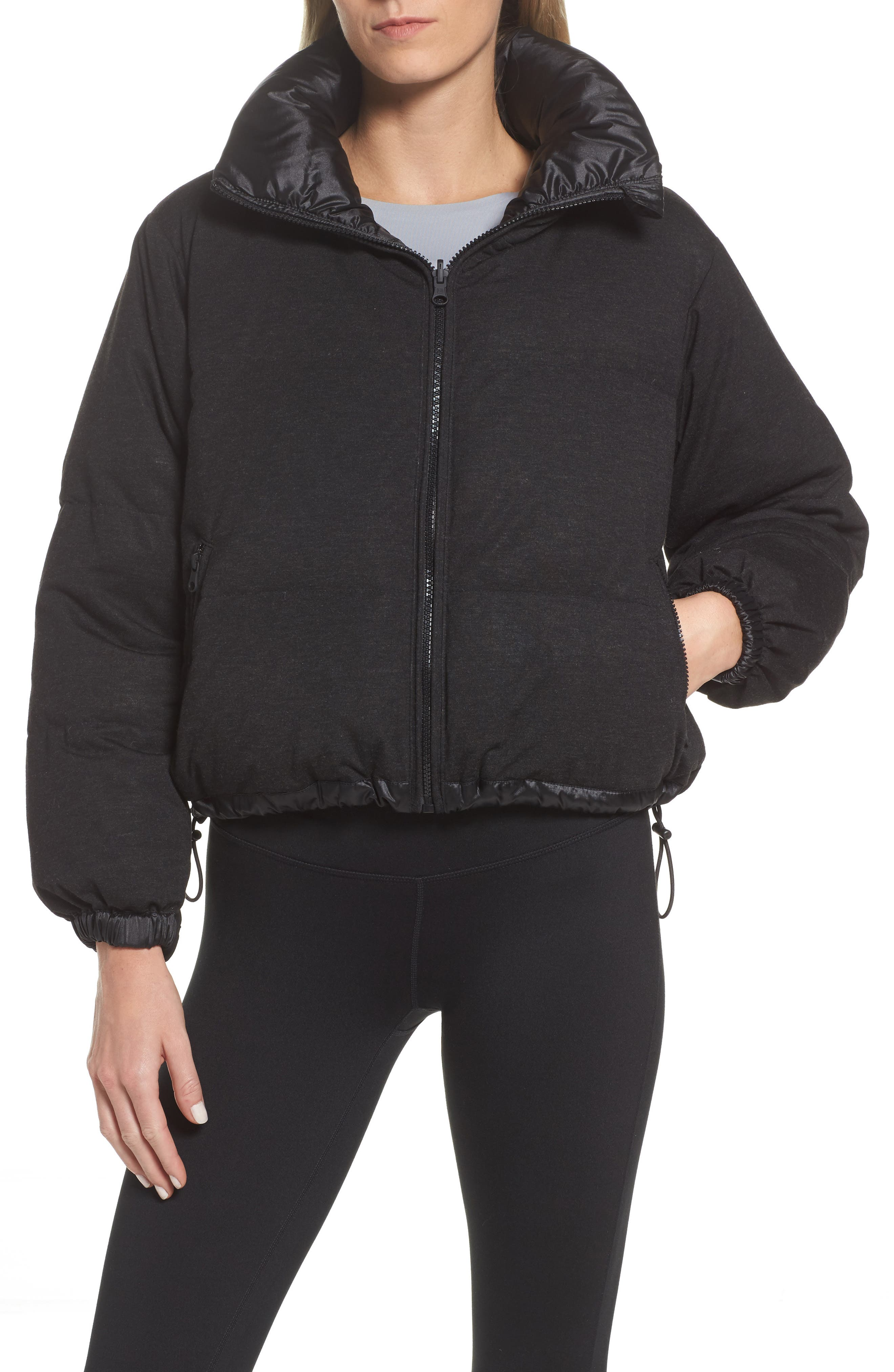 Reversible Puffer Jacket,                             Alternate thumbnail 2, color,                             001