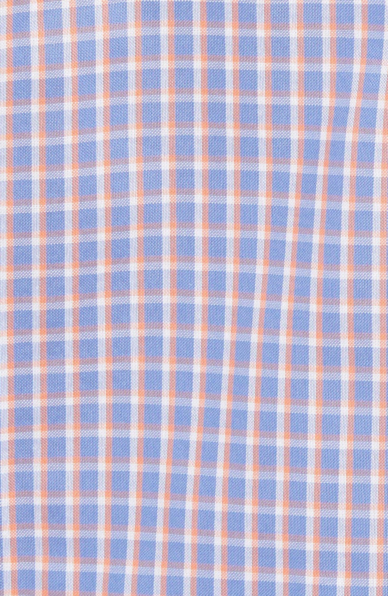 Bader Regular Fit Check Sport Shirt,                             Alternate thumbnail 5, color,                             400