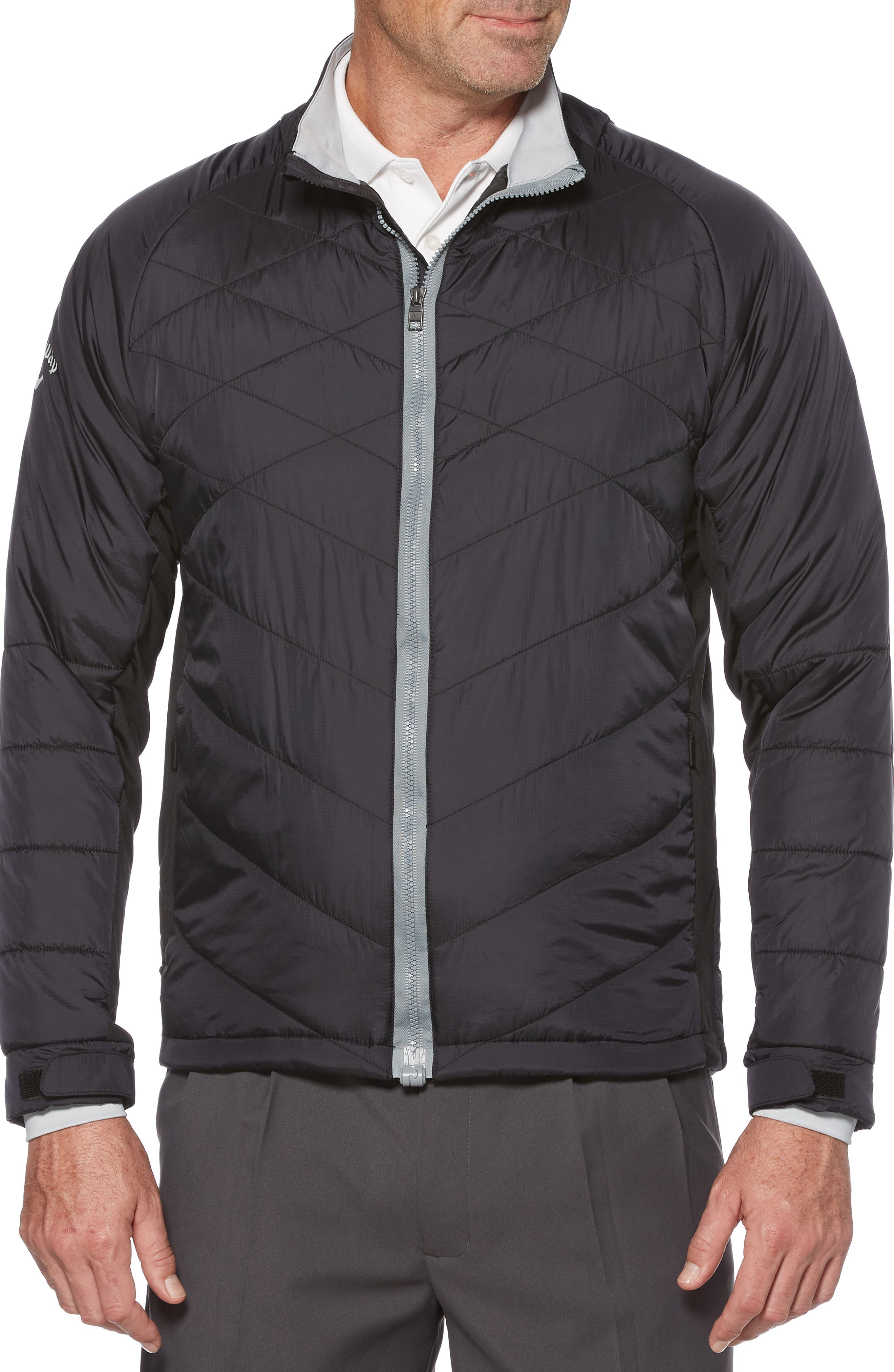 Performance Puffer Jacket,                             Main thumbnail 1, color,                             002