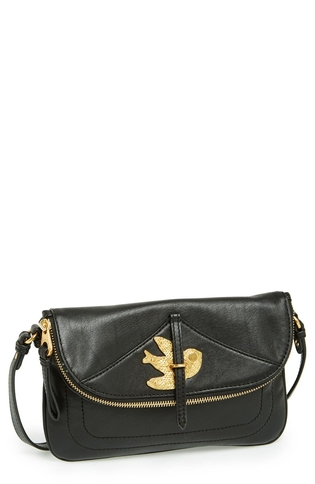 MARC JACOBS,                             MARC BY MARC JACOBS 'Petal to the Metal - Percy' Crossbody Bag,                             Main thumbnail 1, color,                             001