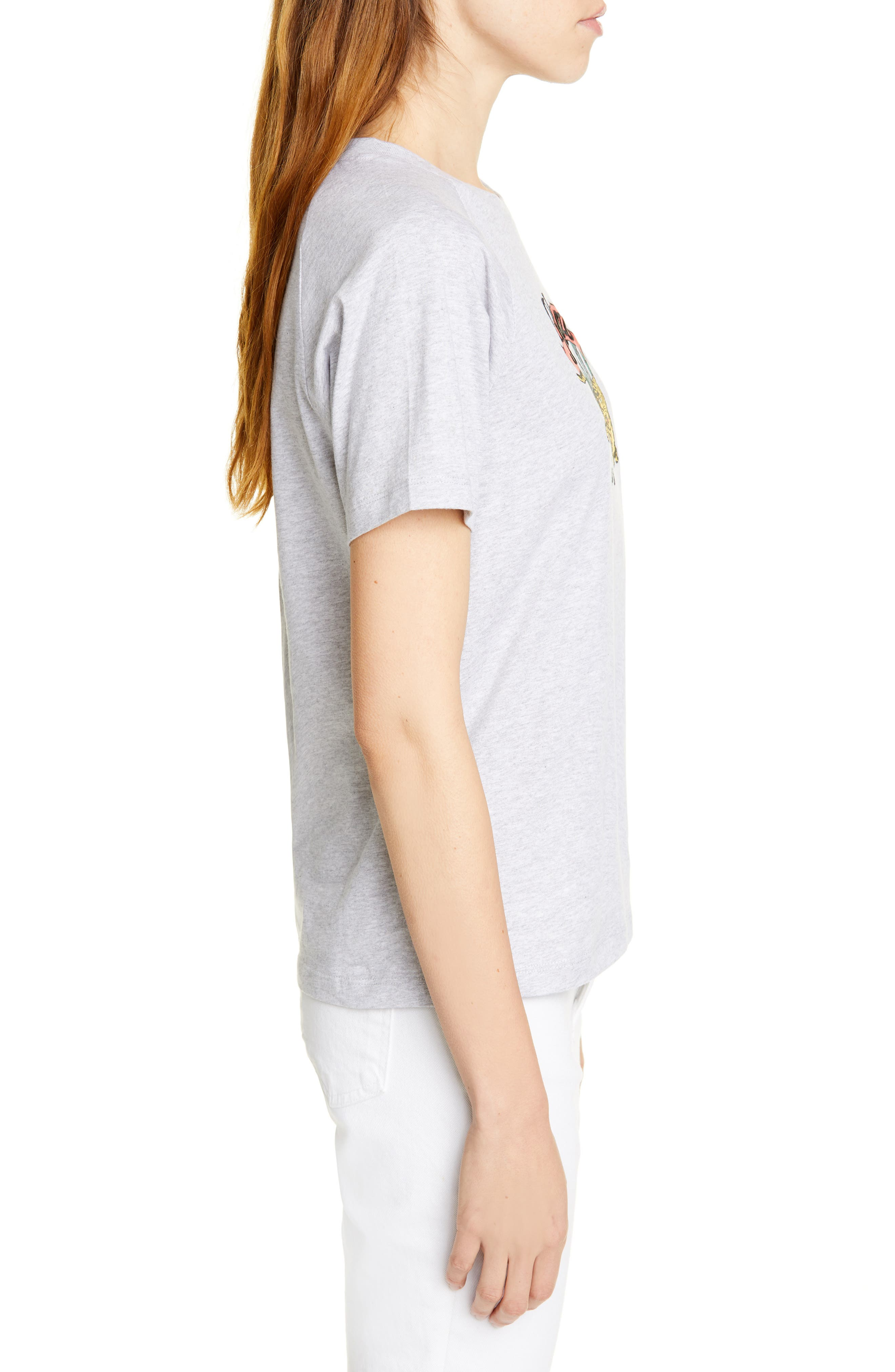 KENZO,                             Side Logo Tee,                             Alternate thumbnail 3, color,                             032