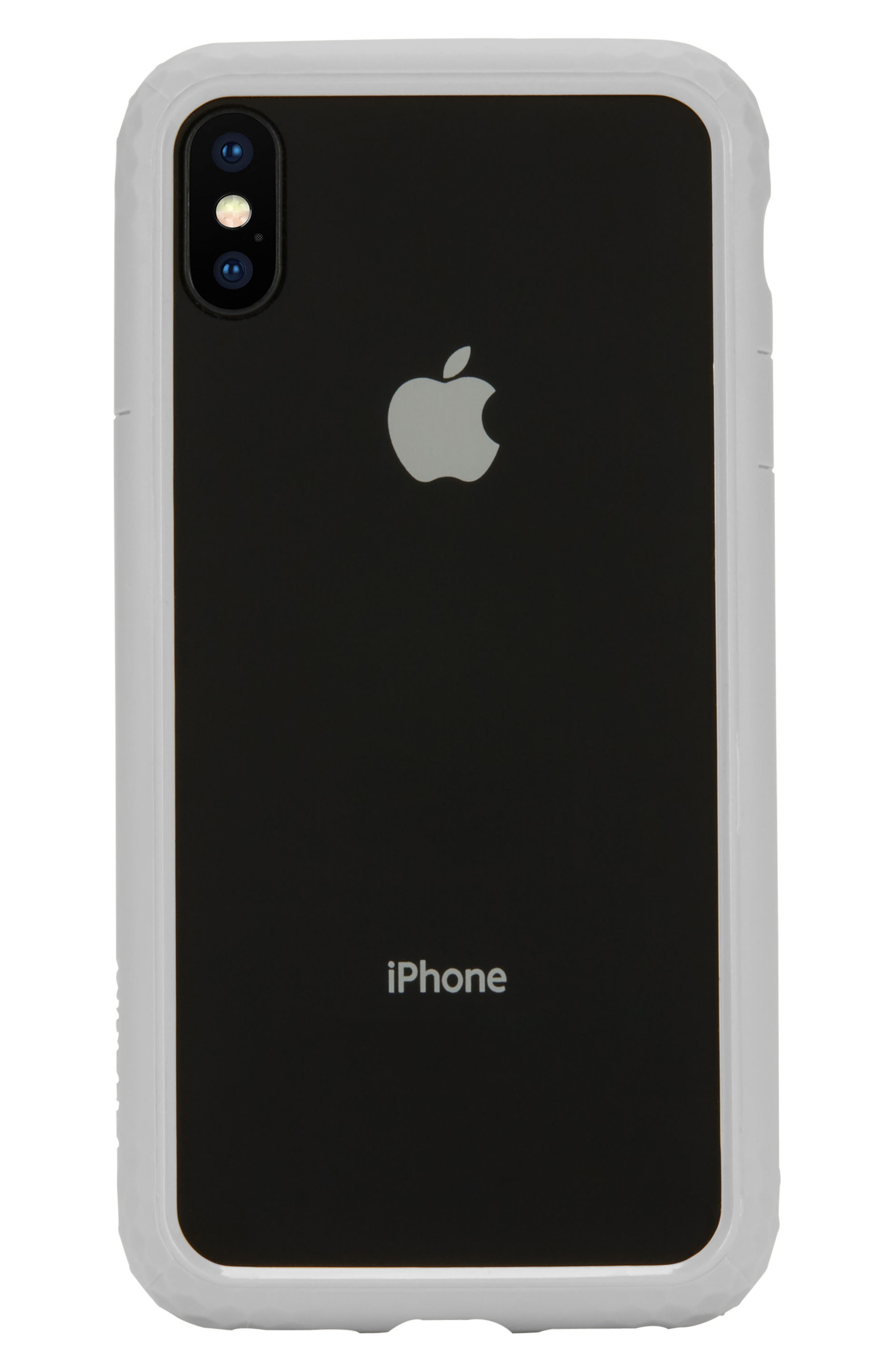 Frame iPhone X & Xs Case,                             Alternate thumbnail 4, color,                             SLATE
