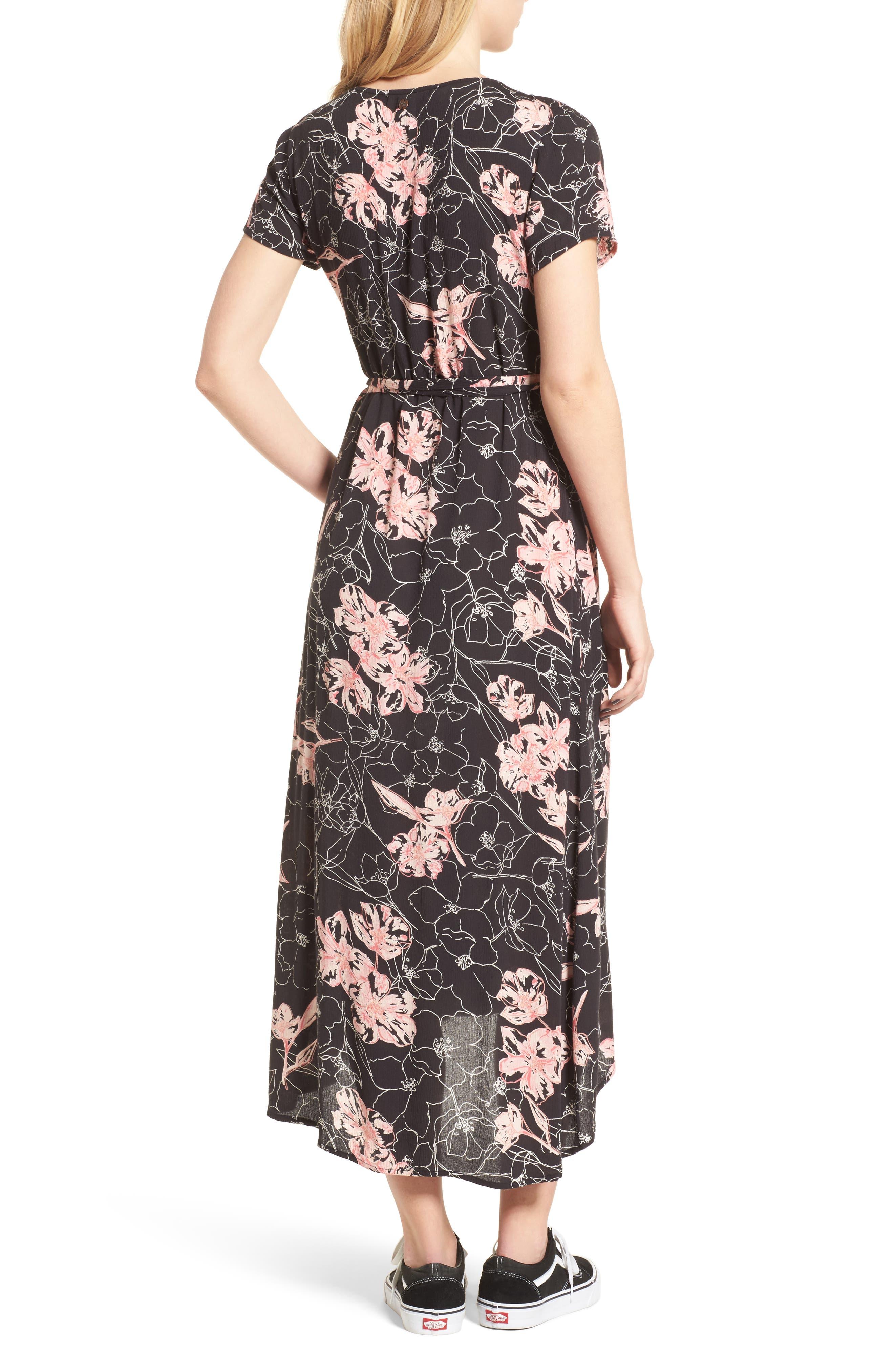 Wrap Me Up Midi Dress,                             Alternate thumbnail 2, color,                             001