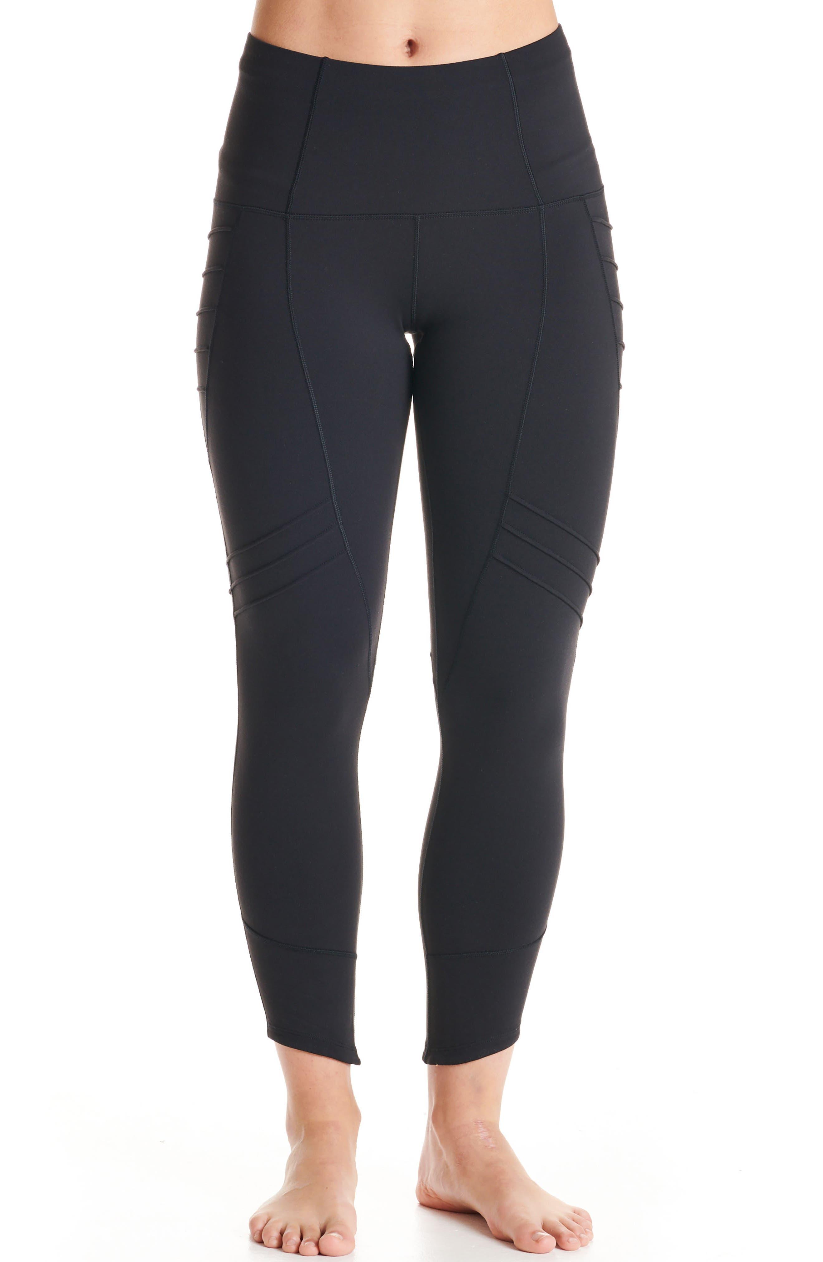 Aero Leggings,                         Main,                         color, BLACK