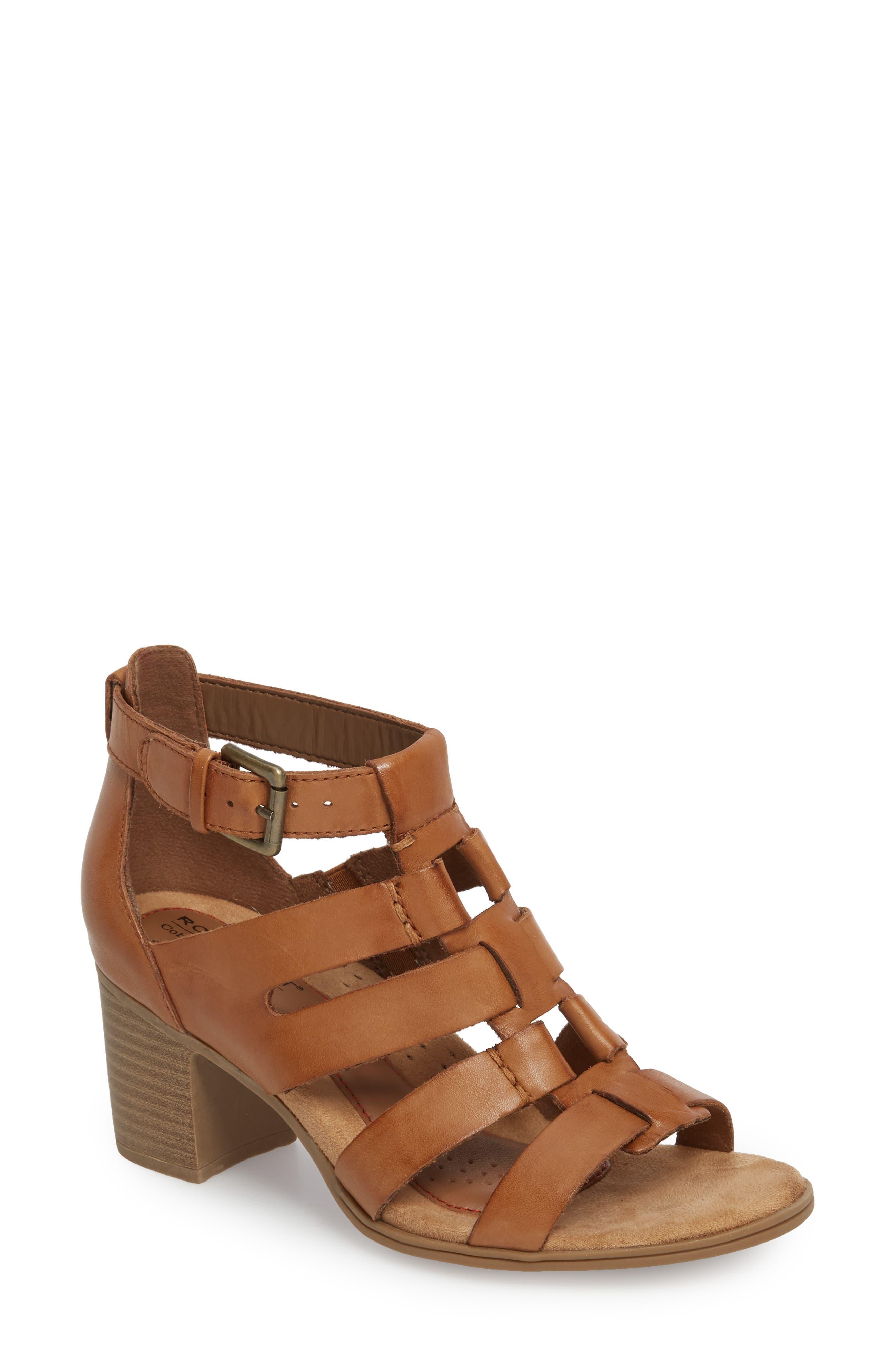 Hattie Block Heel Gladiator Sandal,                         Main,                         color, 231