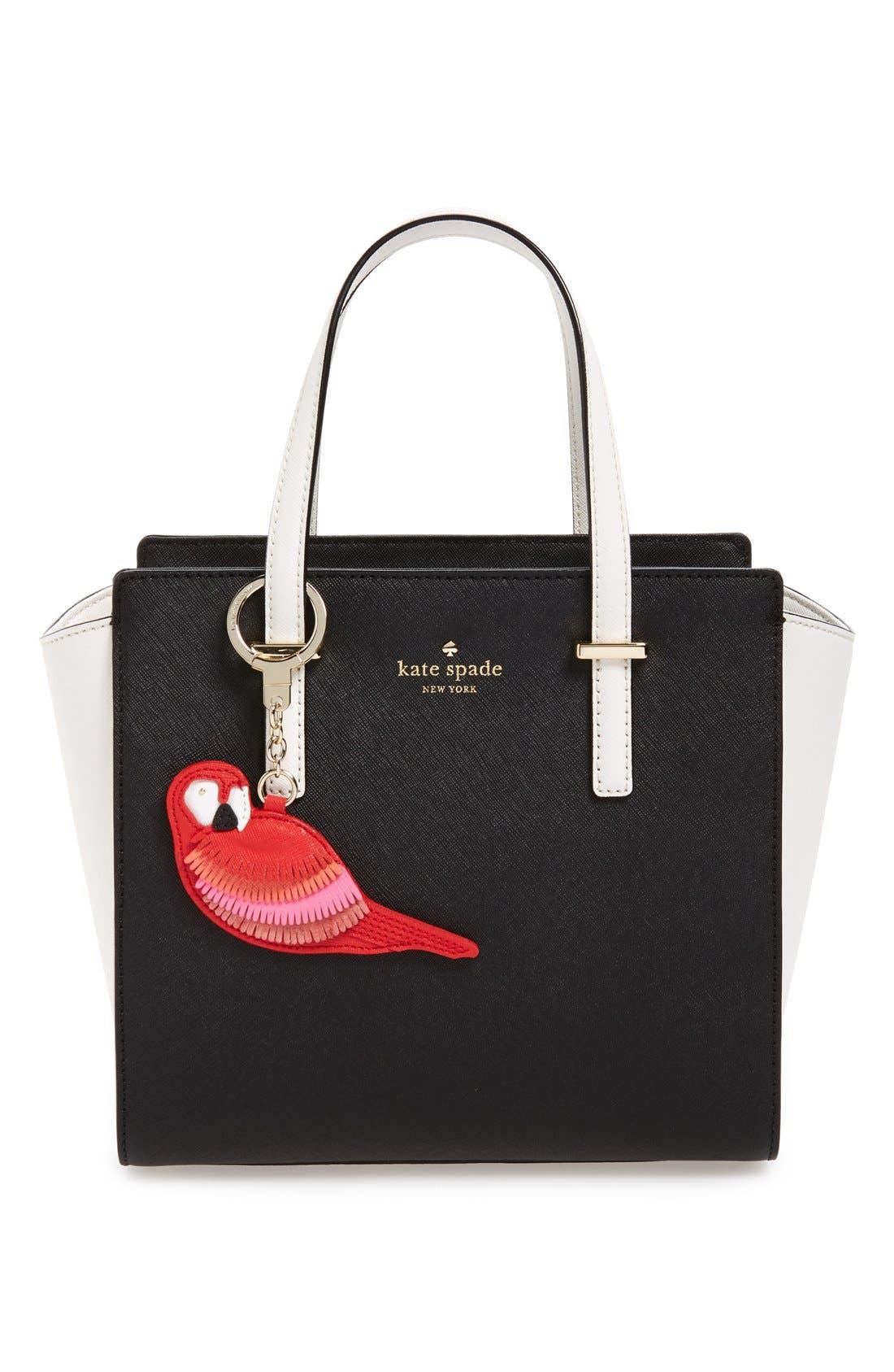 KATE SPADE NEW YORK,                             'parrot' bag charm,                             Alternate thumbnail 2, color,                             600