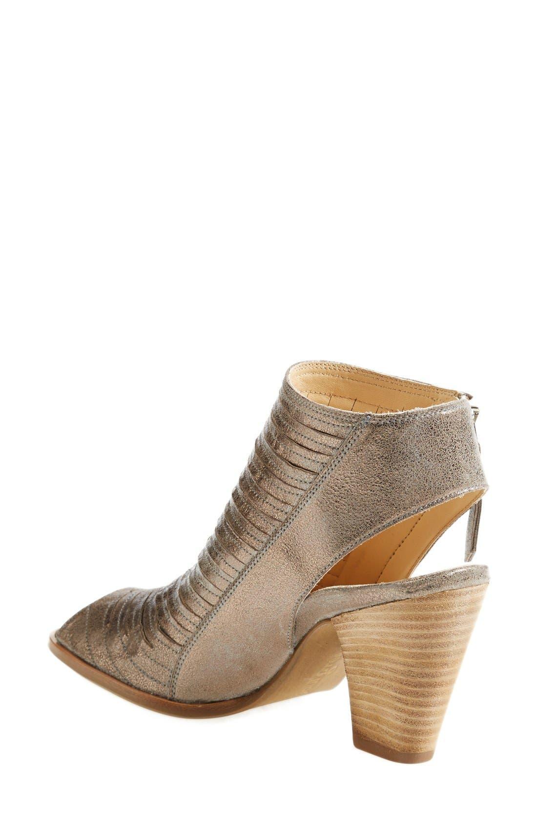 'Cayanne' Leather Peep Toe Sandal,                             Alternate thumbnail 26, color,