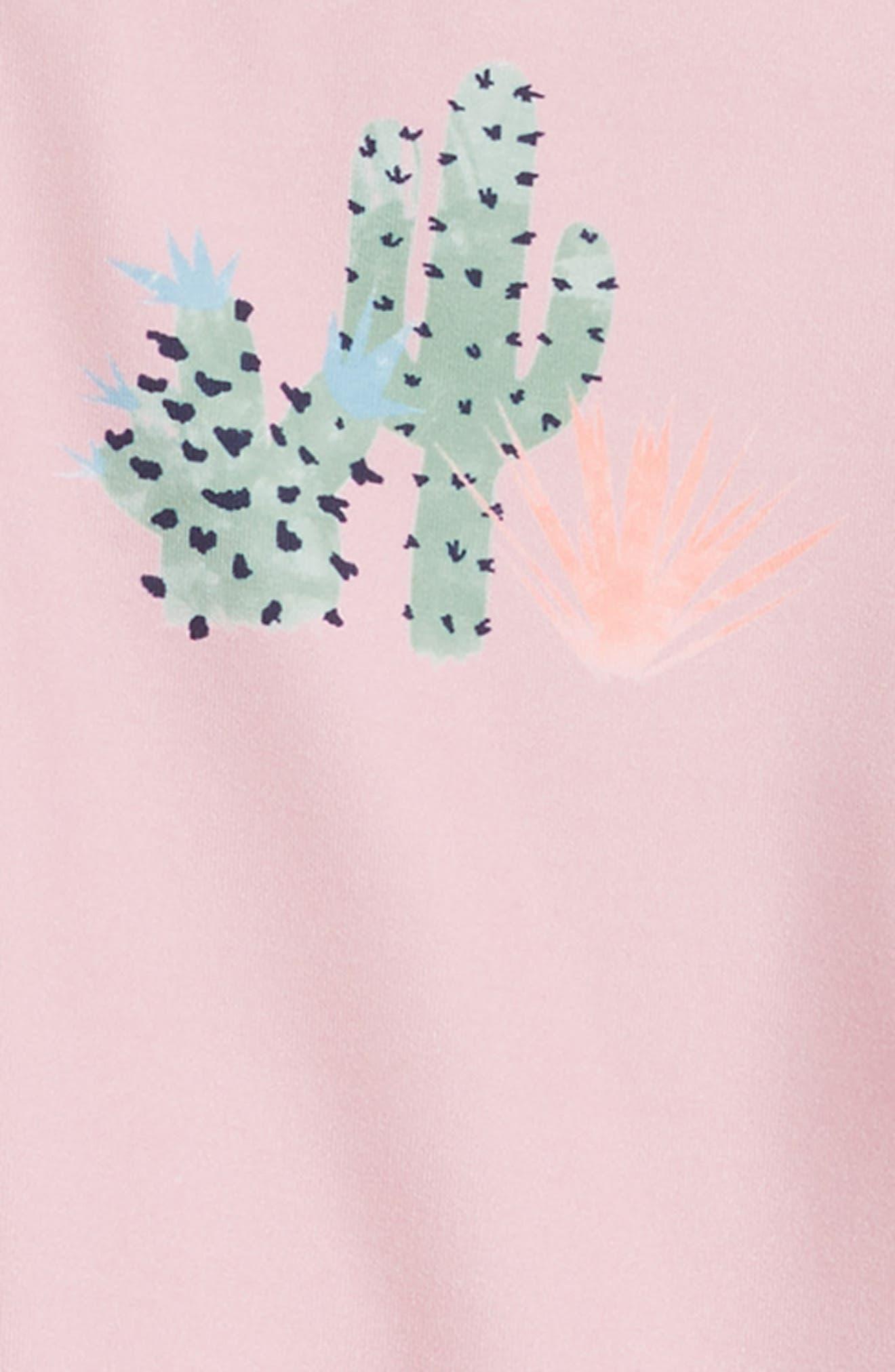 Cacti Short Sleeve Rashguard,                             Alternate thumbnail 3, color,                             650