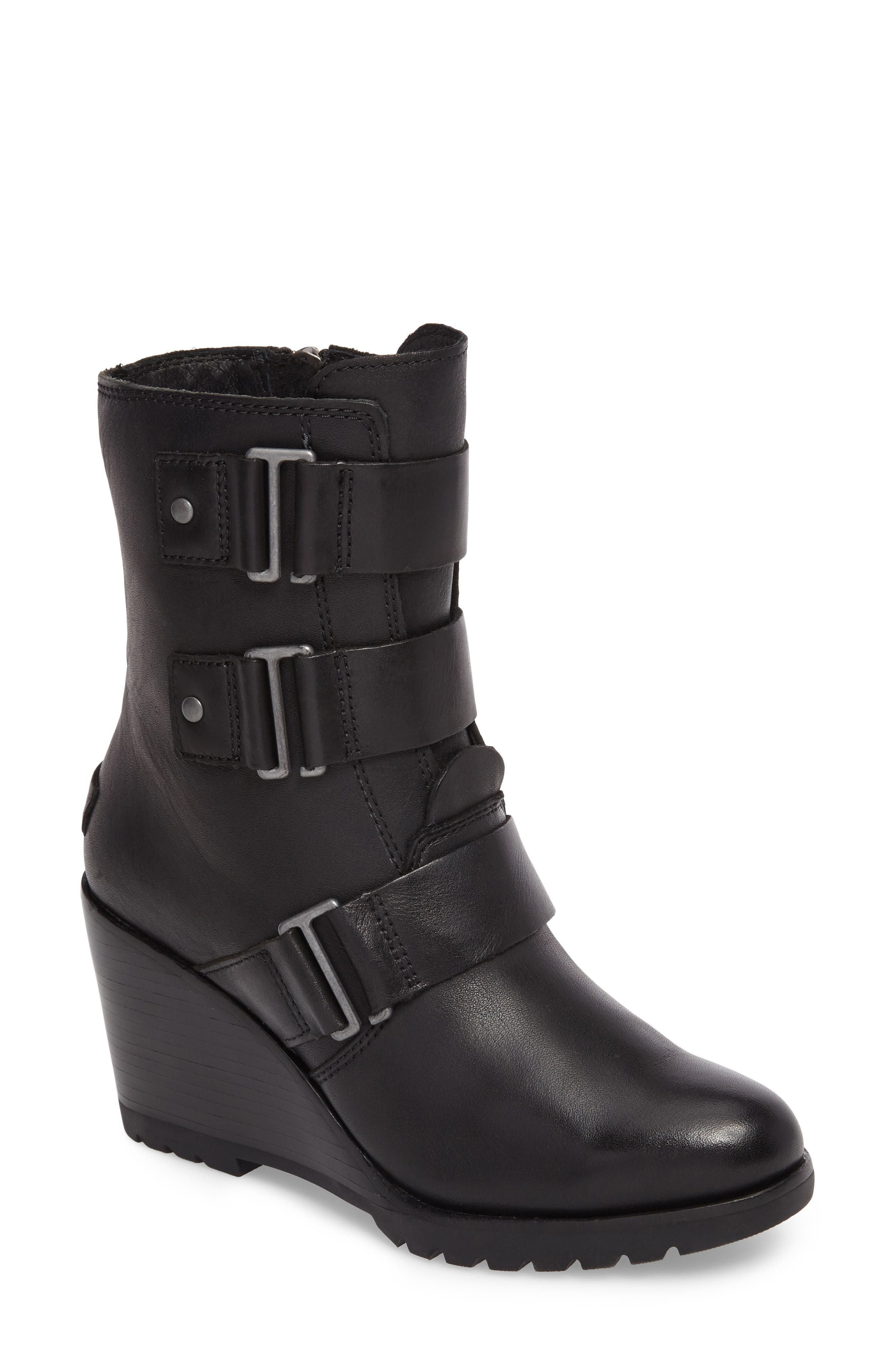 After Hours Waterproof Bootie,                             Main thumbnail 1, color,