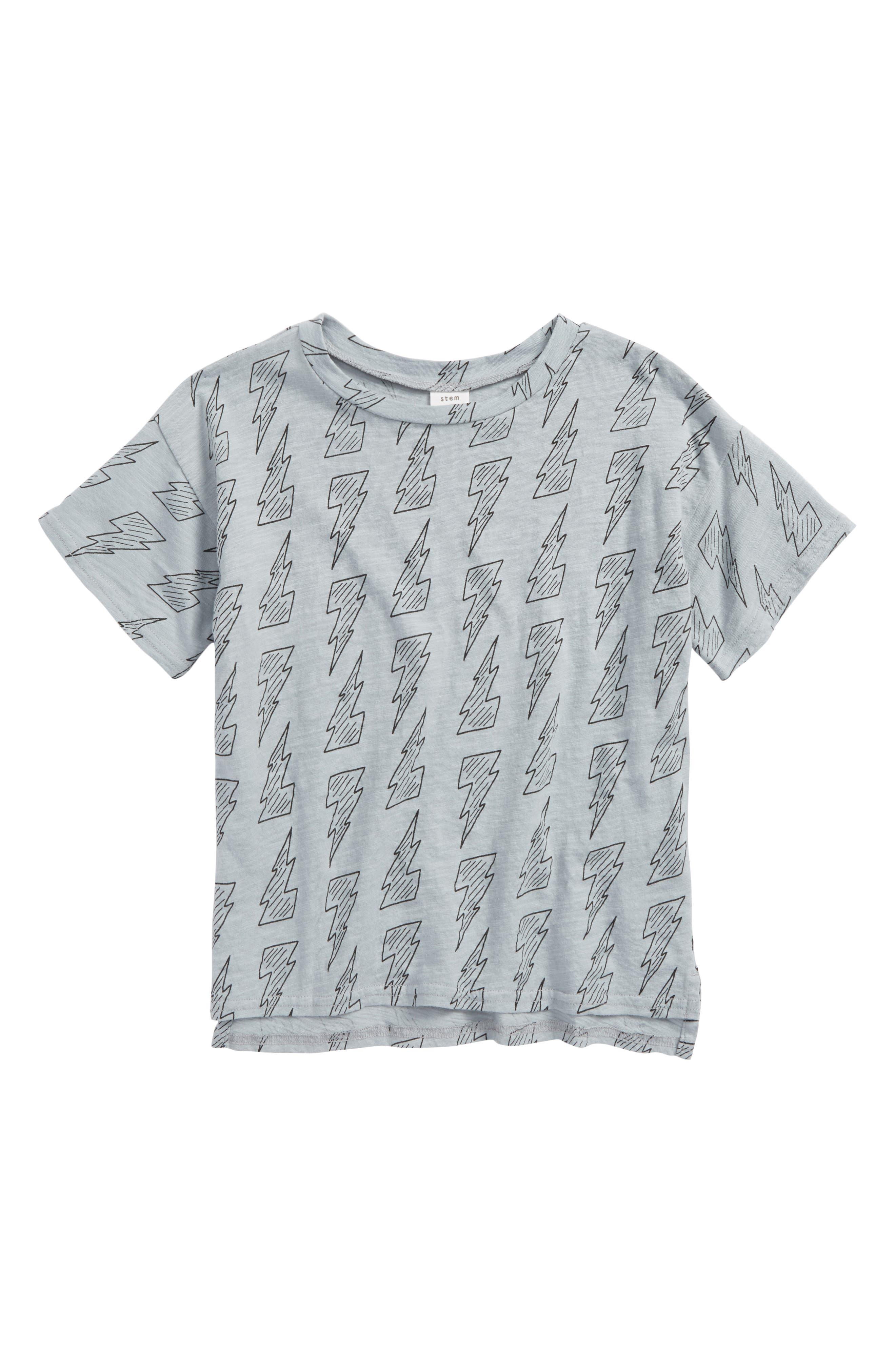 Print T-Shirt,                             Main thumbnail 1, color,                             050