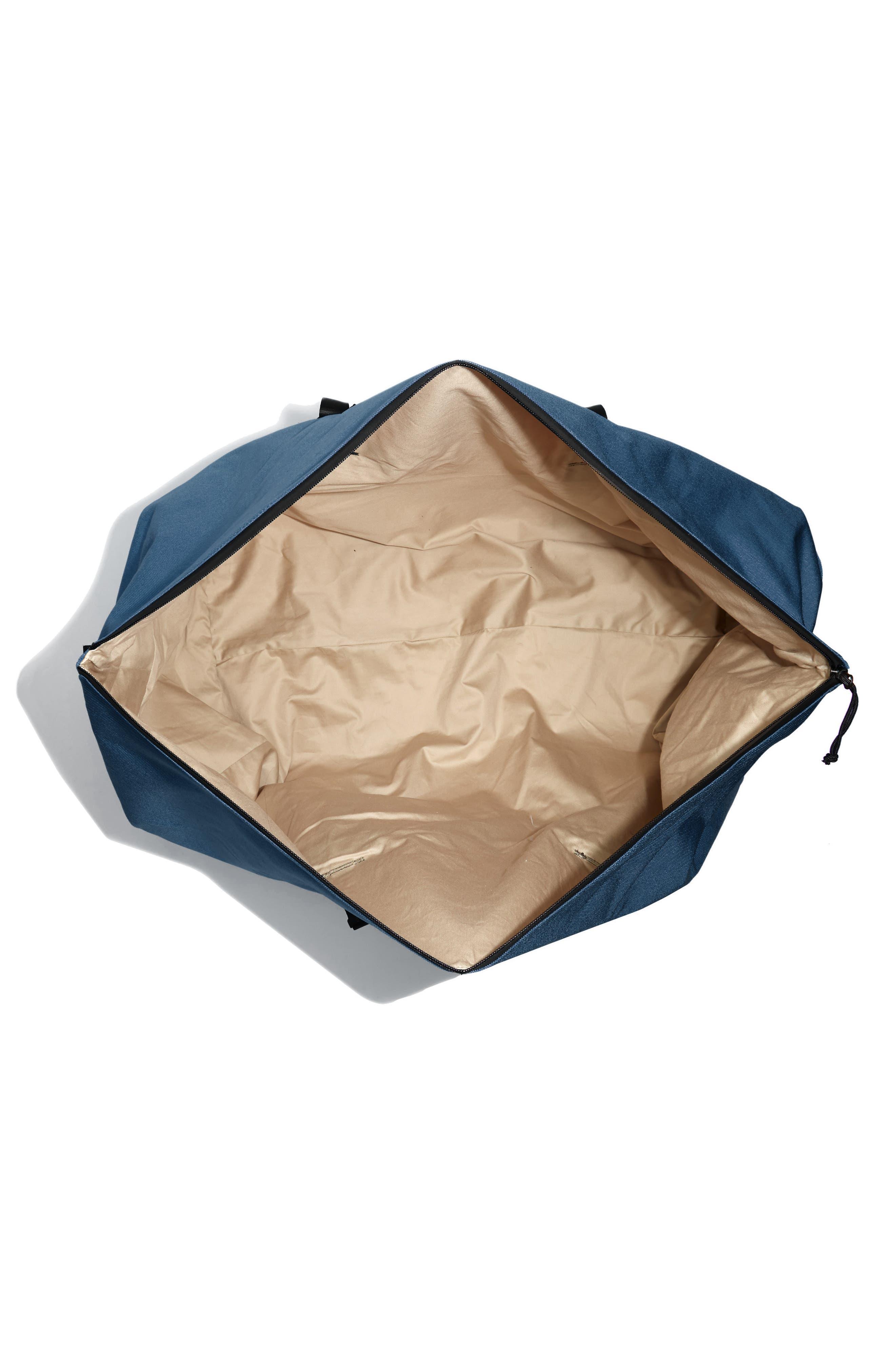 SWS 100L Roll Top Duffel Bag,                             Alternate thumbnail 3, color,                             NAVY