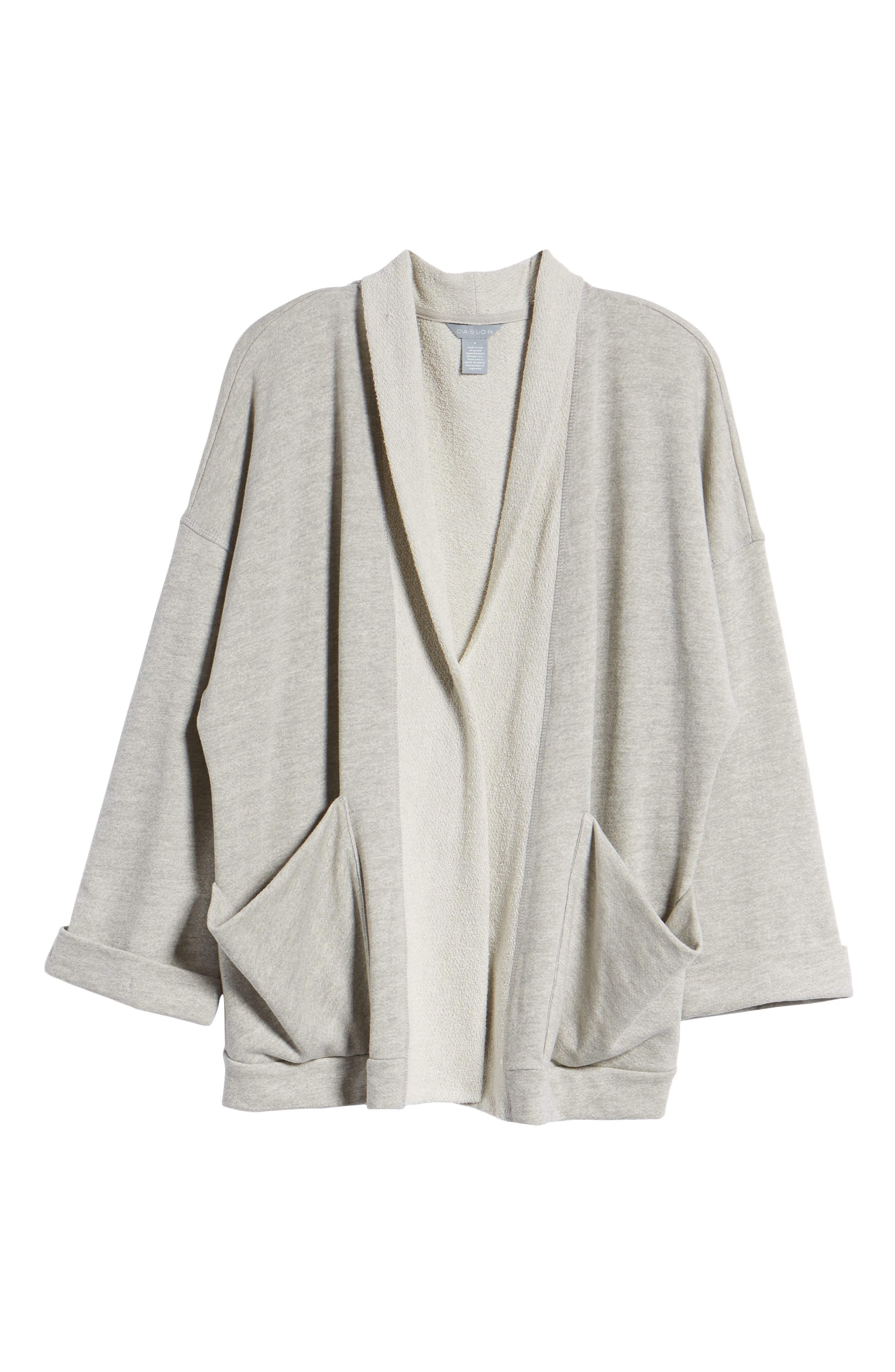 Off-Duty Roll Sleeve Cotton Blend Jacket,                             Alternate thumbnail 15, color,