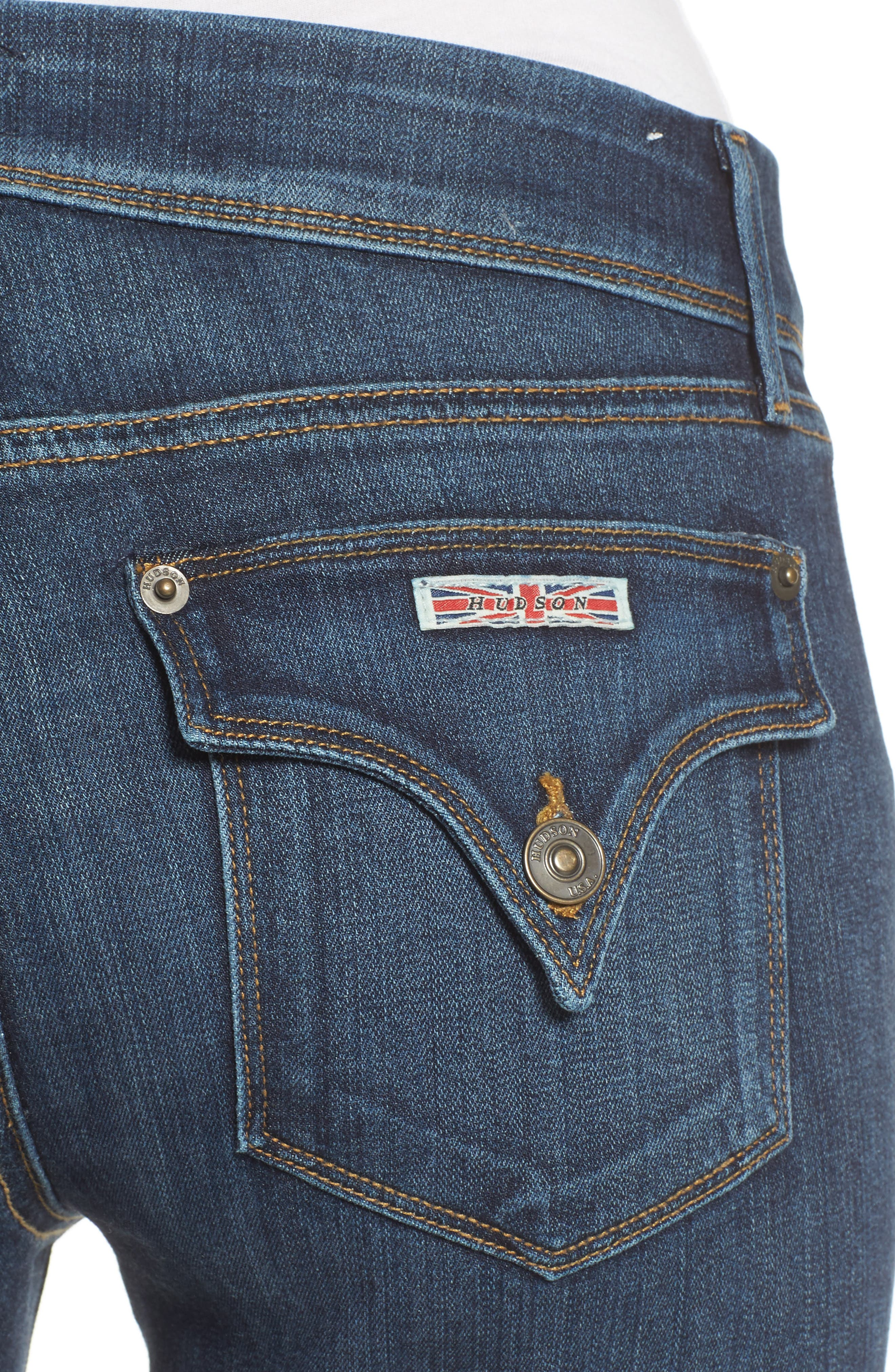 Beth Baby Bootcut Jeans,                             Alternate thumbnail 4, color,                             422