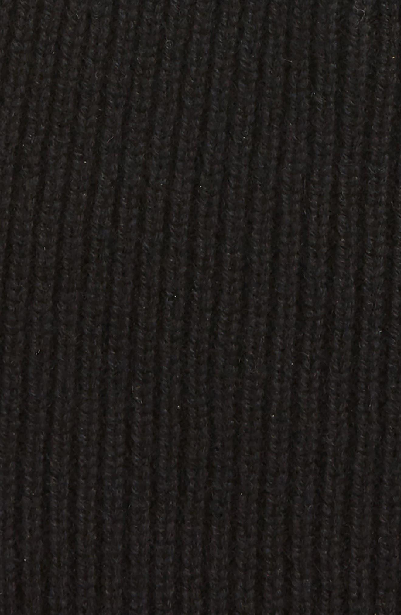 Ace Cashmere Knit Cap,                             Alternate thumbnail 2, color,                             001