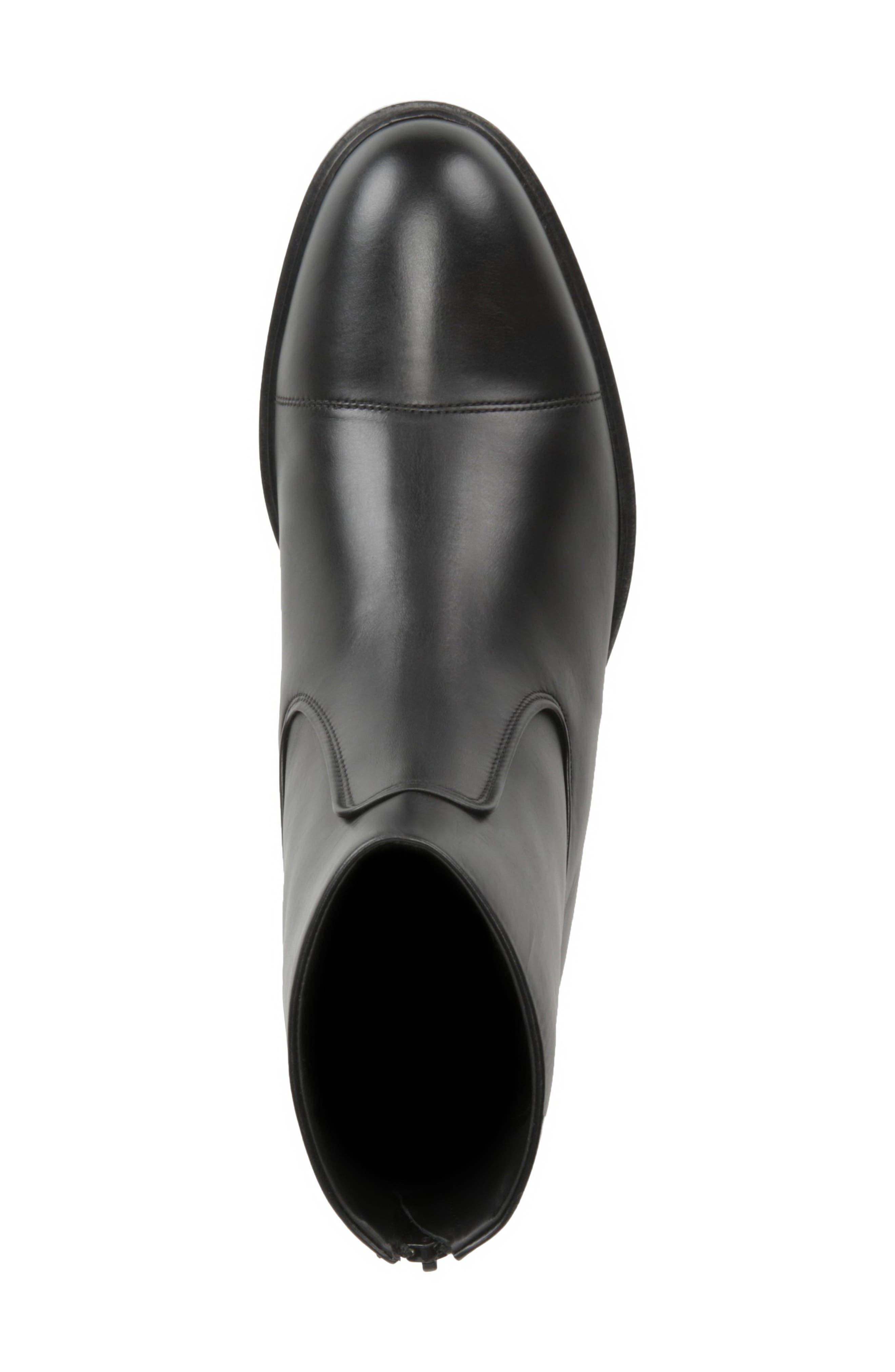 Beckett Zip Boot,                             Alternate thumbnail 5, color,                             BLACK