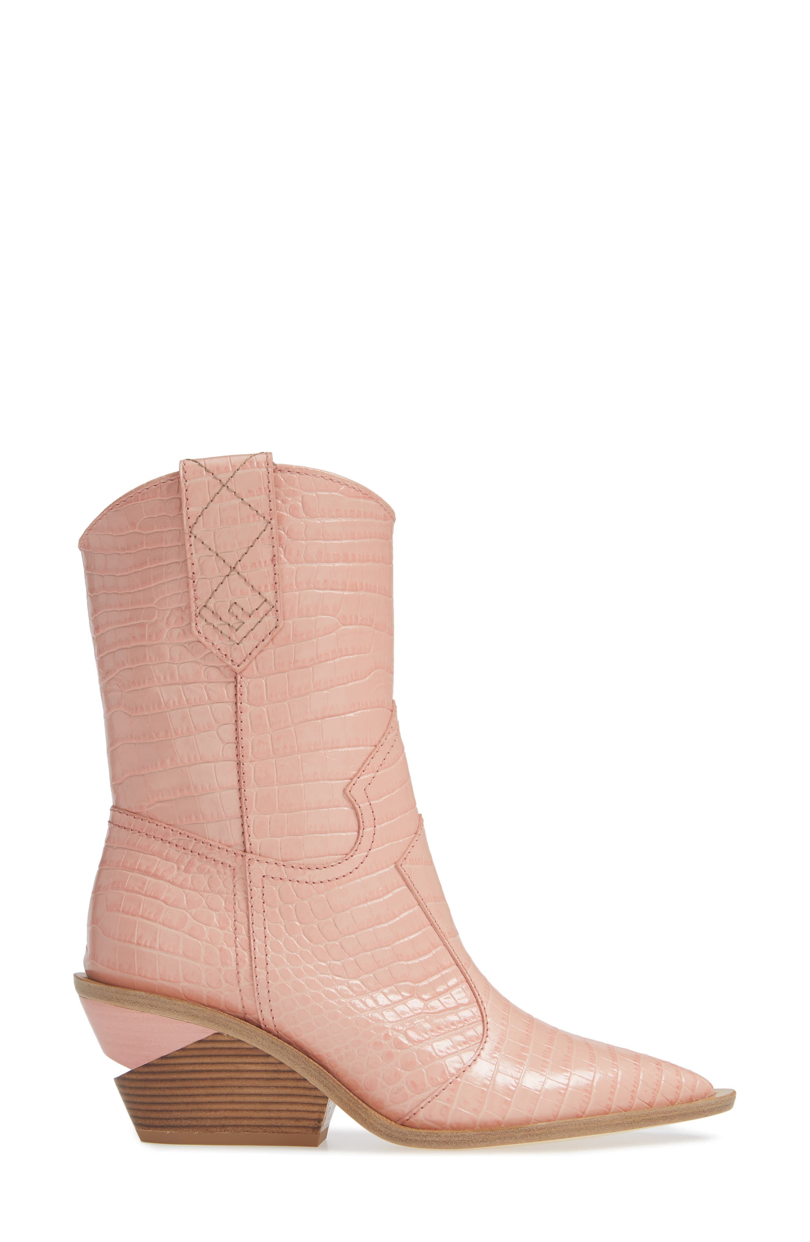 Cutwalk Mid Boot,                             Alternate thumbnail 3, color,                             BABY PINK