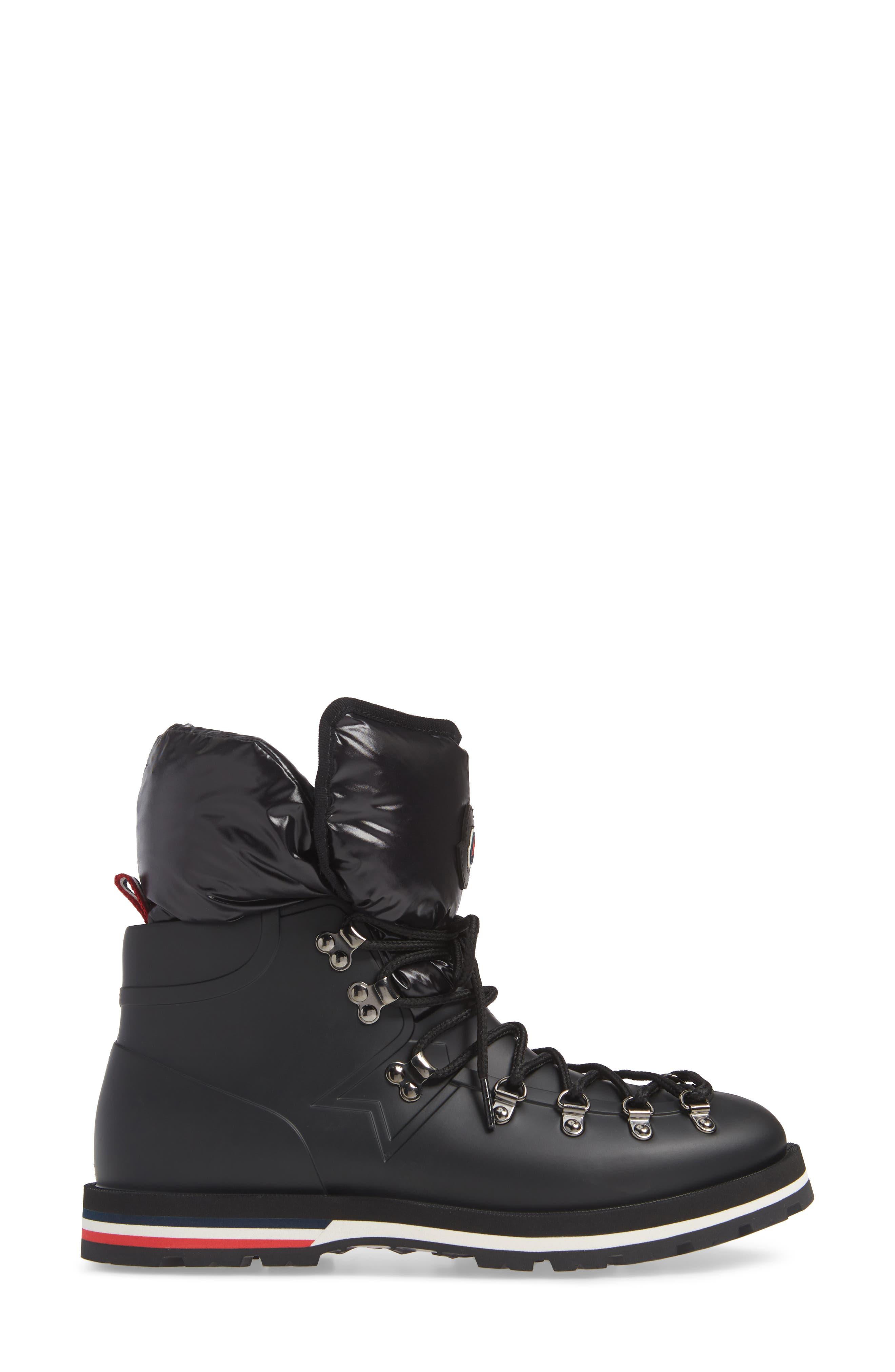 Inaya Boot,                             Alternate thumbnail 3, color,                             BLACK