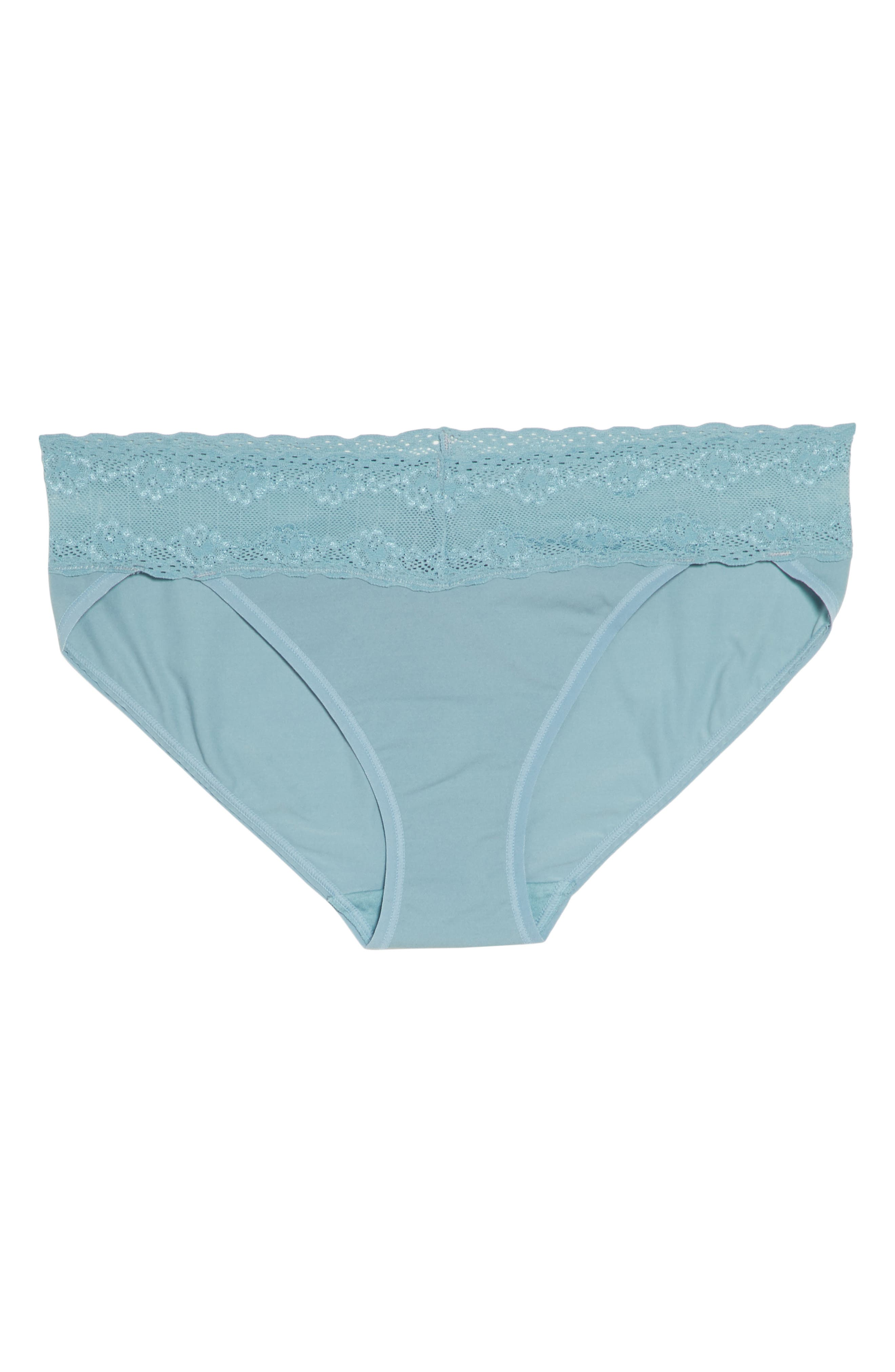 Bliss Perfection Bikini,                             Alternate thumbnail 6, color,                             SMOKE BLUE