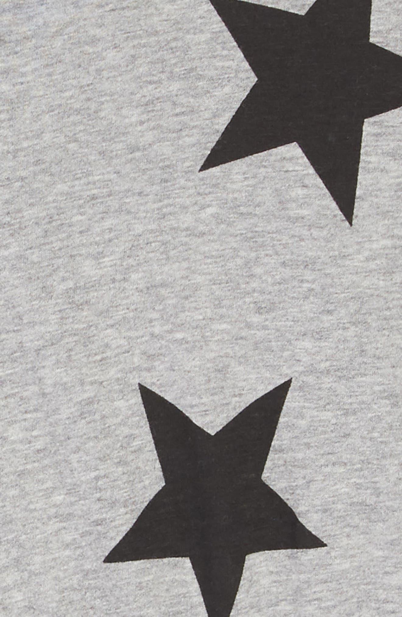 Star Tulle Dress,                             Alternate thumbnail 3, color,                             HEATHER GREY