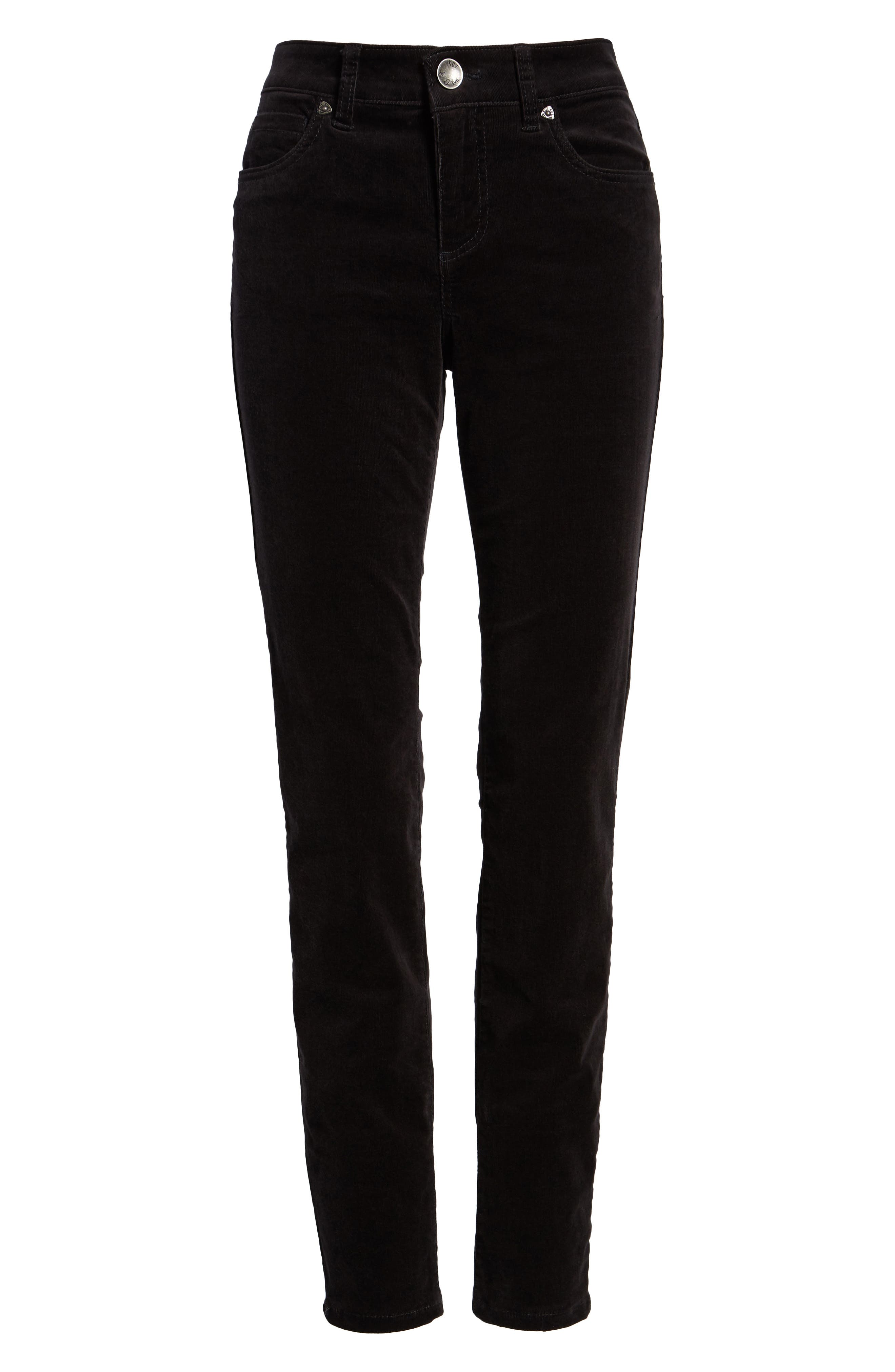 'Diana' Stretch Corduroy Skinny Pants,                             Alternate thumbnail 300, color,