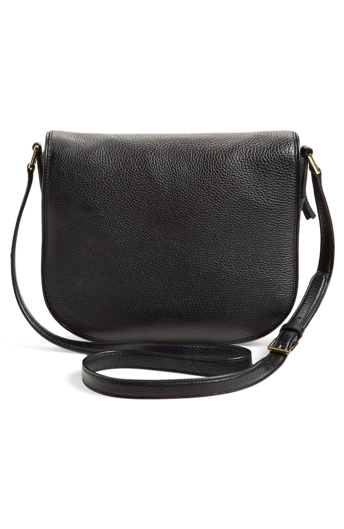 'Robinson' Pebbled Leather Shoulder Bag,                             Alternate thumbnail 2, color,                             001