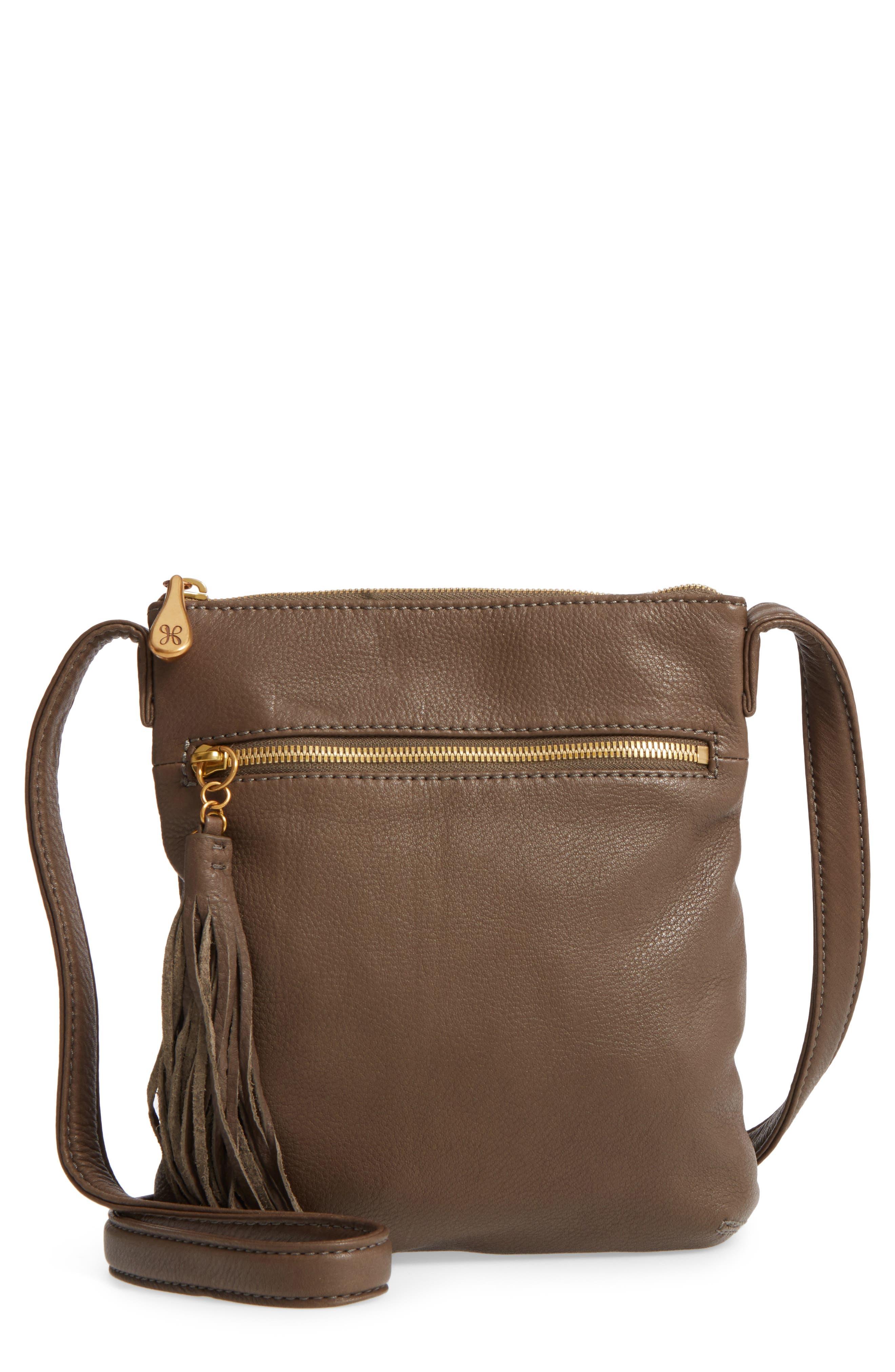 'Sarah' Leather Crossbody Bag,                             Main thumbnail 6, color,