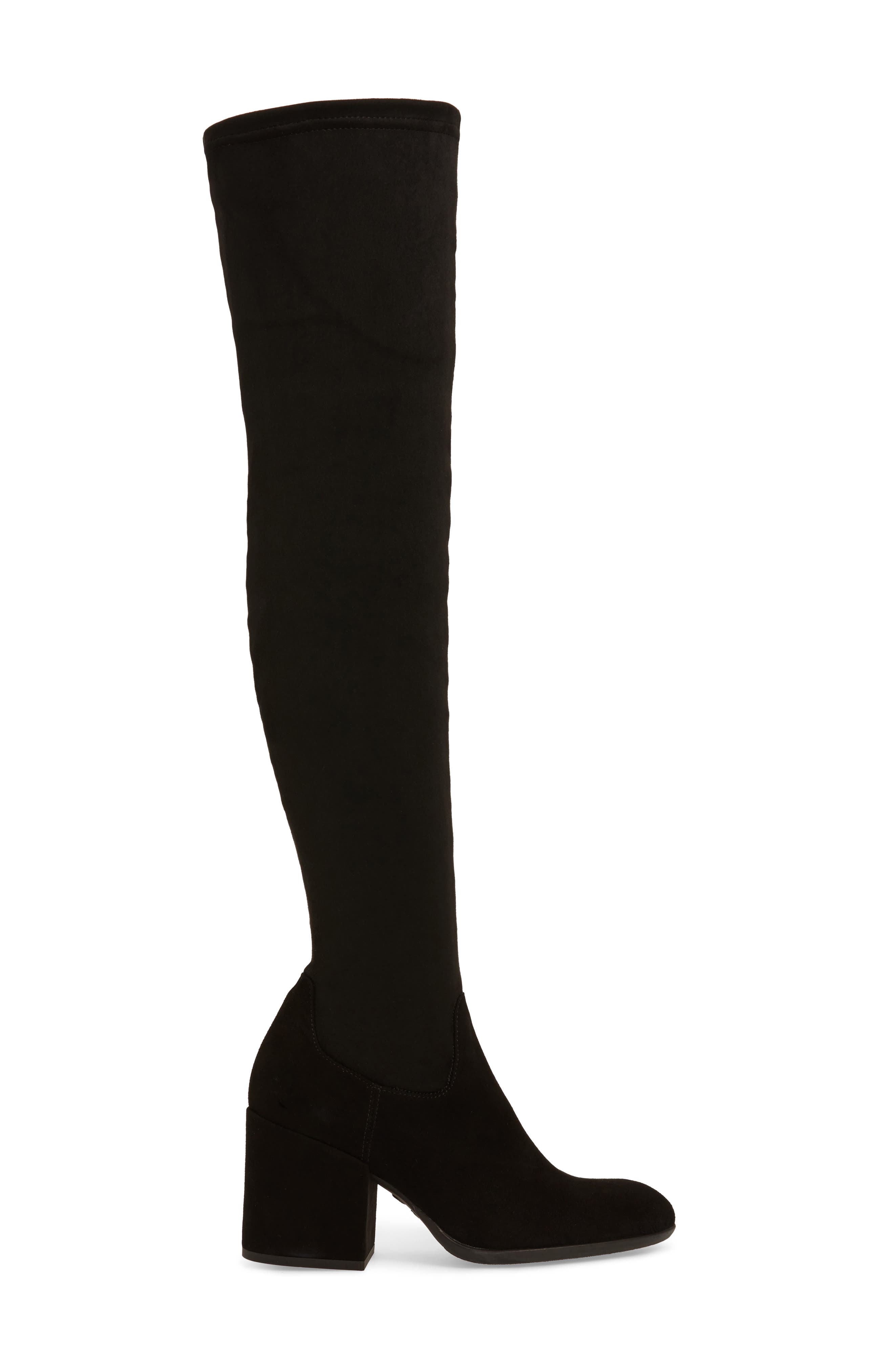 Verve Over the Knee Boot,                             Alternate thumbnail 3, color,                             001