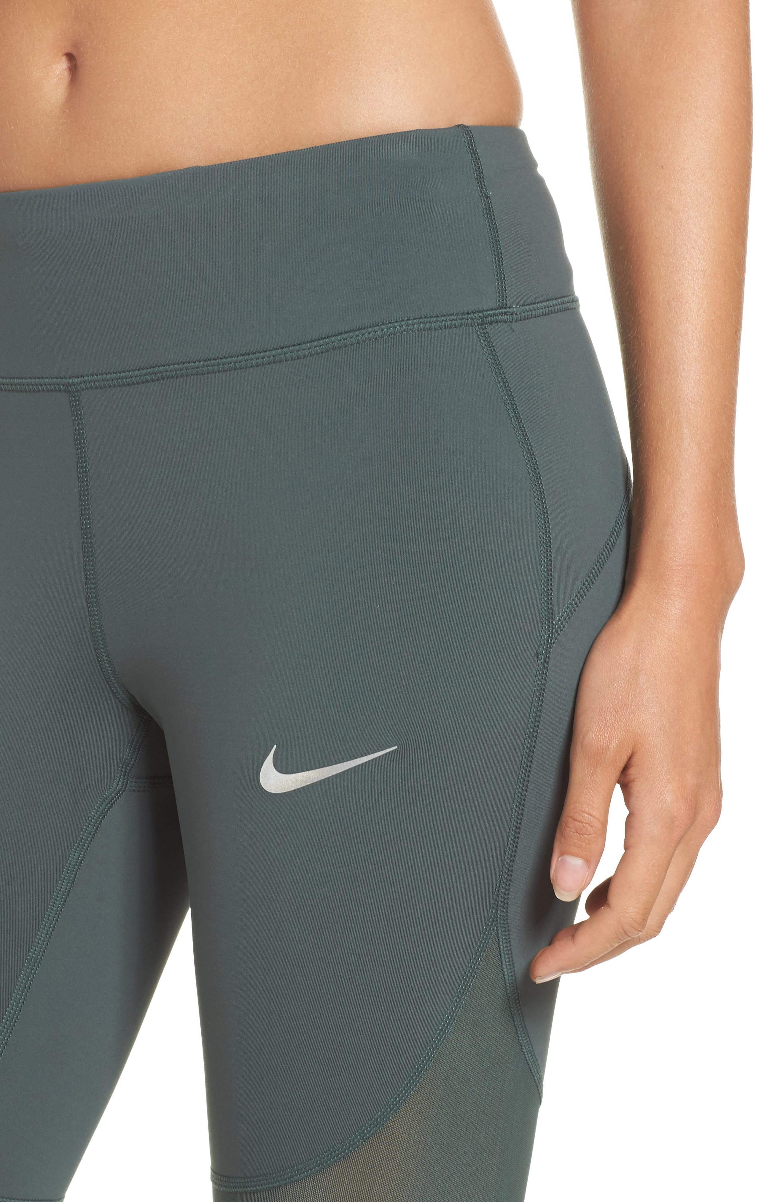 Power Epic Crop Tights,                             Alternate thumbnail 9, color,