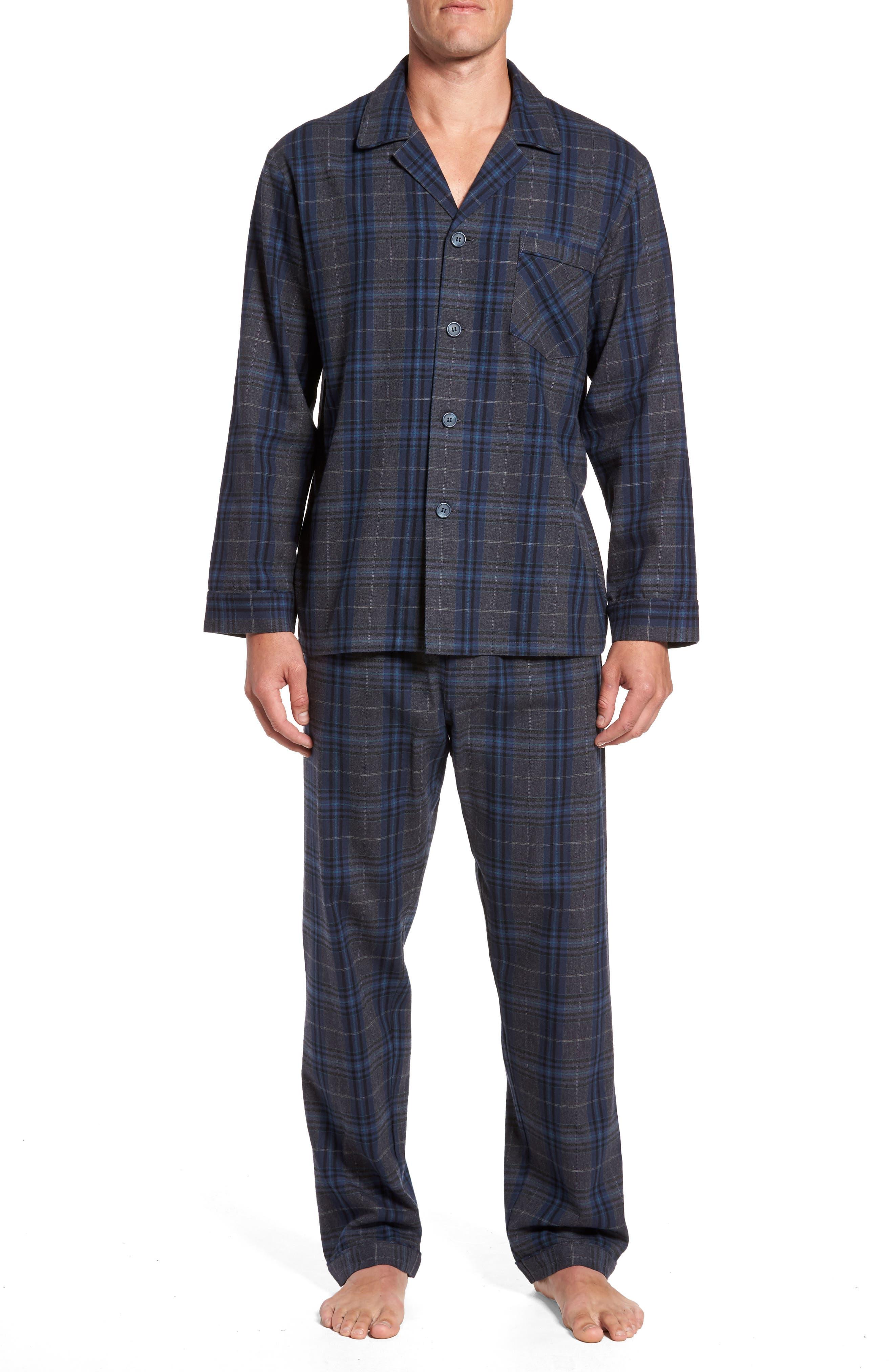 Bryson Plaid Pajama Set,                             Main thumbnail 2, color,