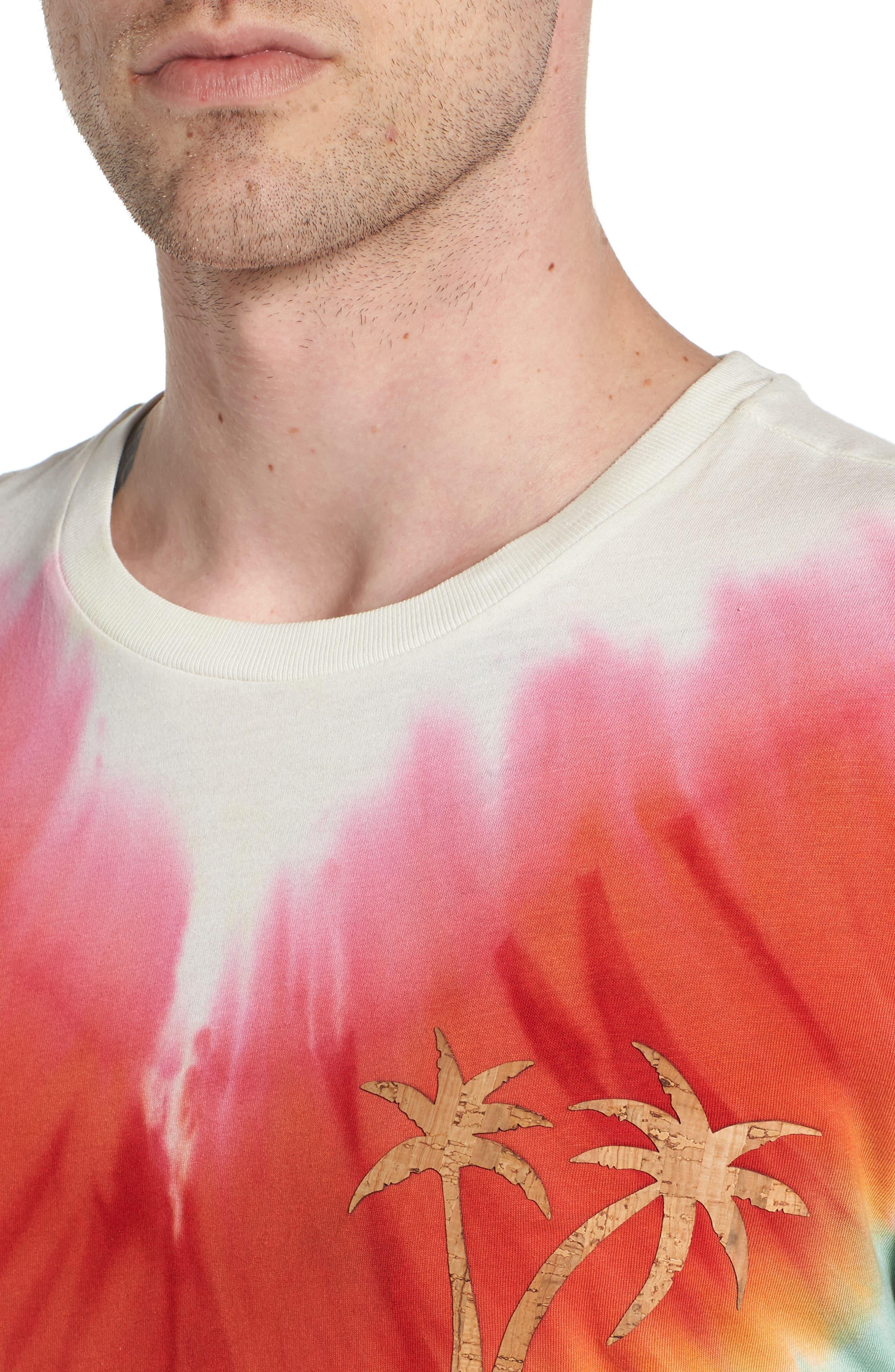Tye Dye Graphic T-Shirt,                             Alternate thumbnail 4, color,                             MULTI COLOR