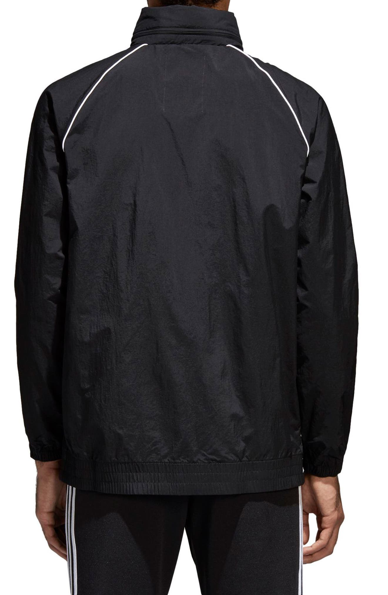 SST Windbreaker,                             Alternate thumbnail 2, color,                             BLACK