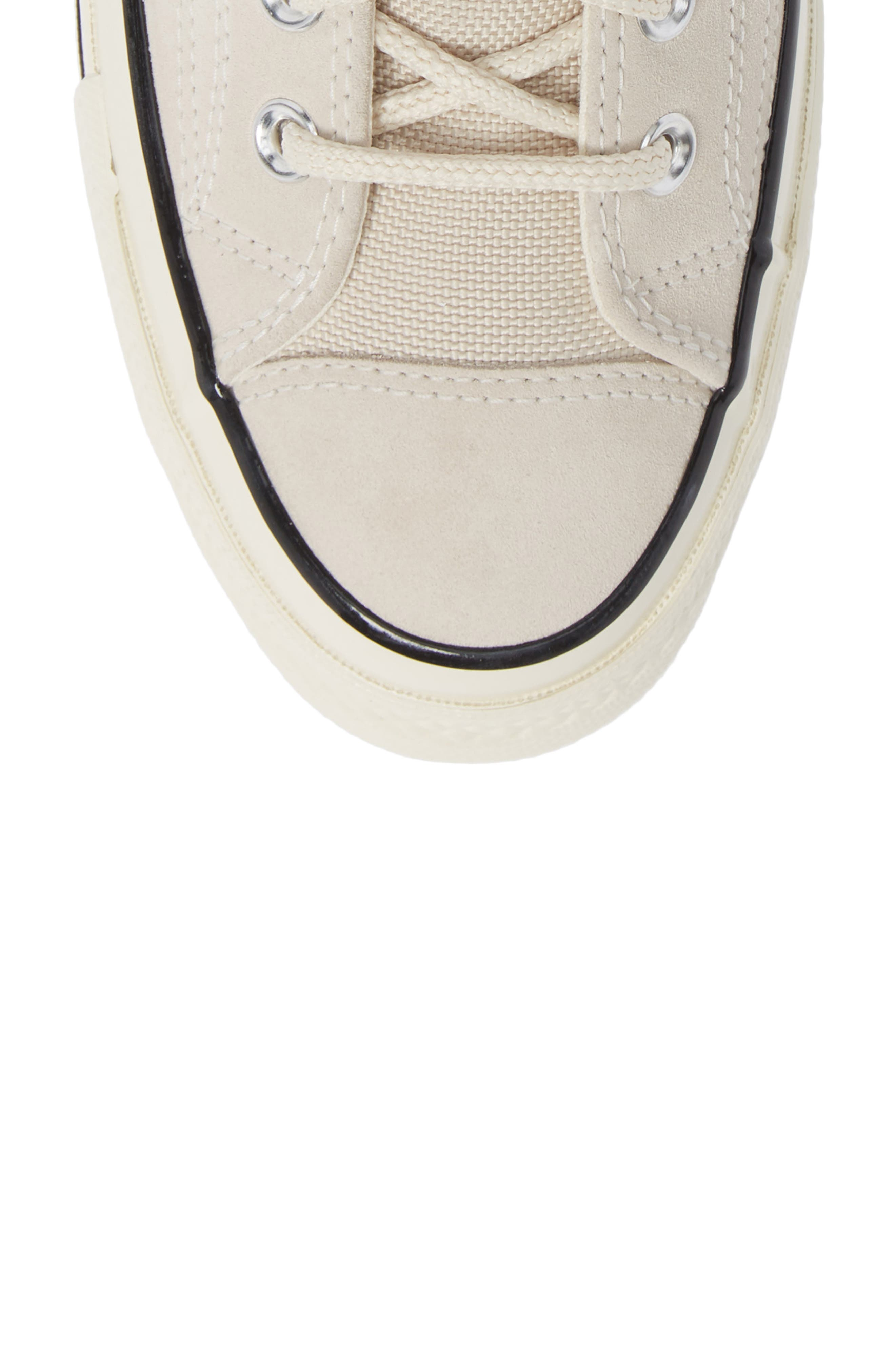 Chuck Taylor<sup>®</sup> All Star<sup>®</sup> 70 Base Camp High Top Sneaker,                             Alternate thumbnail 5, color,                             NATURAL IVORY/BLACK