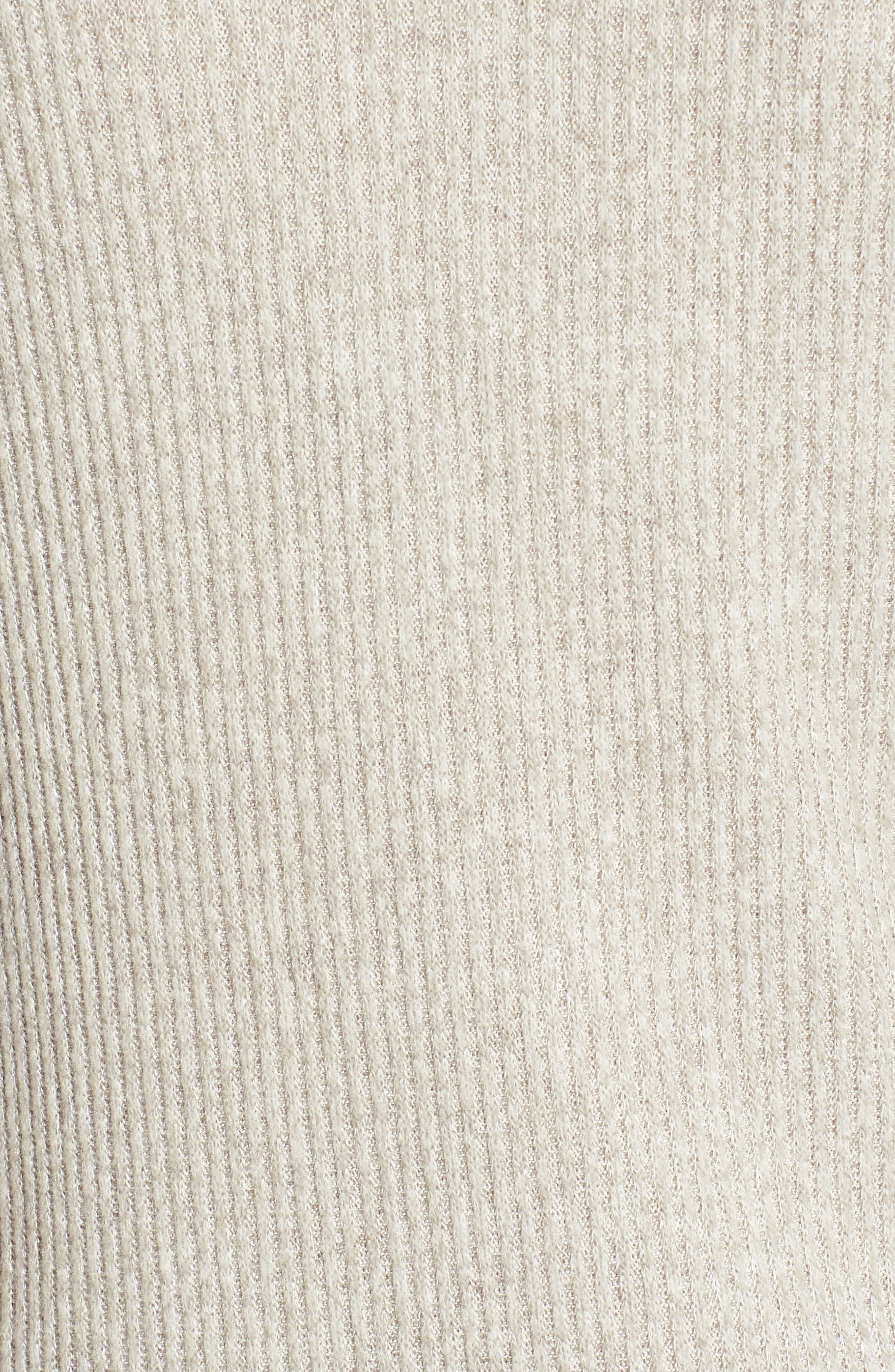 Tie Sleeve Rib Pullover,                             Alternate thumbnail 5, color,                             030